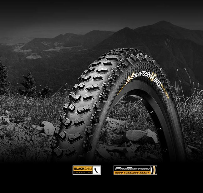 "Plášť CONTINENTAL Mountain King 2.3 29"" 58-622 kevlar Tubeless Ready"
