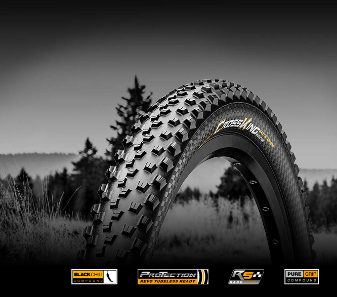 "Plášť CONTINENTAL Cross King 2.2 29"" 55-622 kevlar"