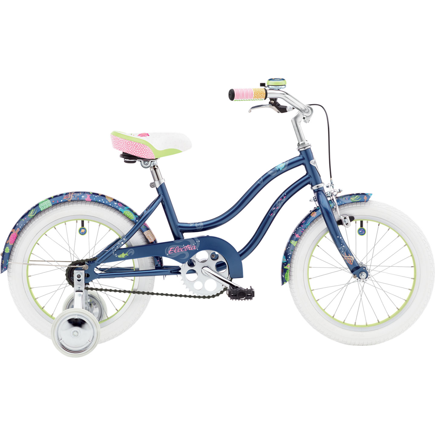Bicykel ELECTRA Under the Sea 1 Girls' Blue 2018