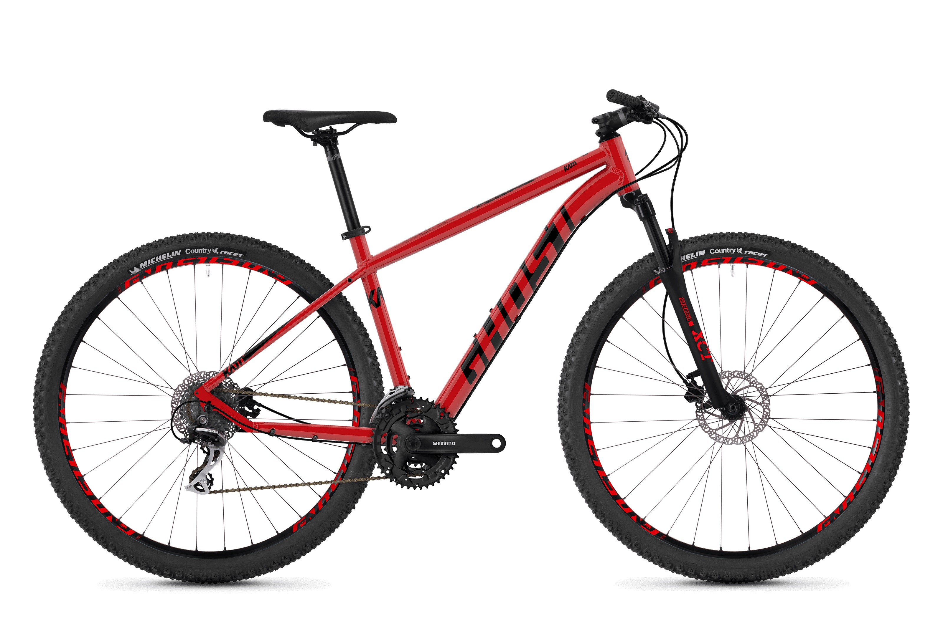 Bicykel GHOST Kato 2.9 riot red / night black 2019