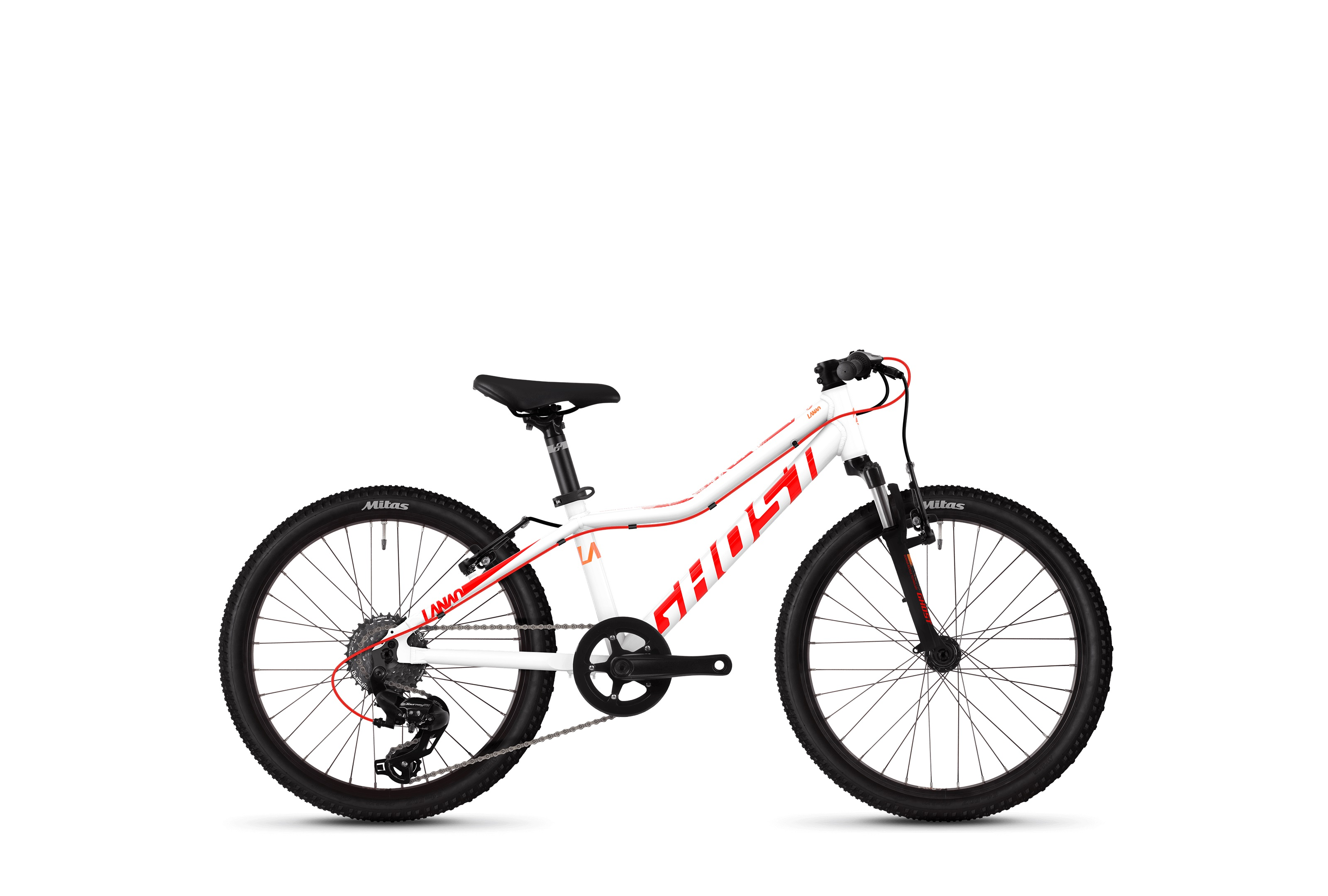 Bicykel GHOST Lanao 2.0 WTE / RED / ORN 2019