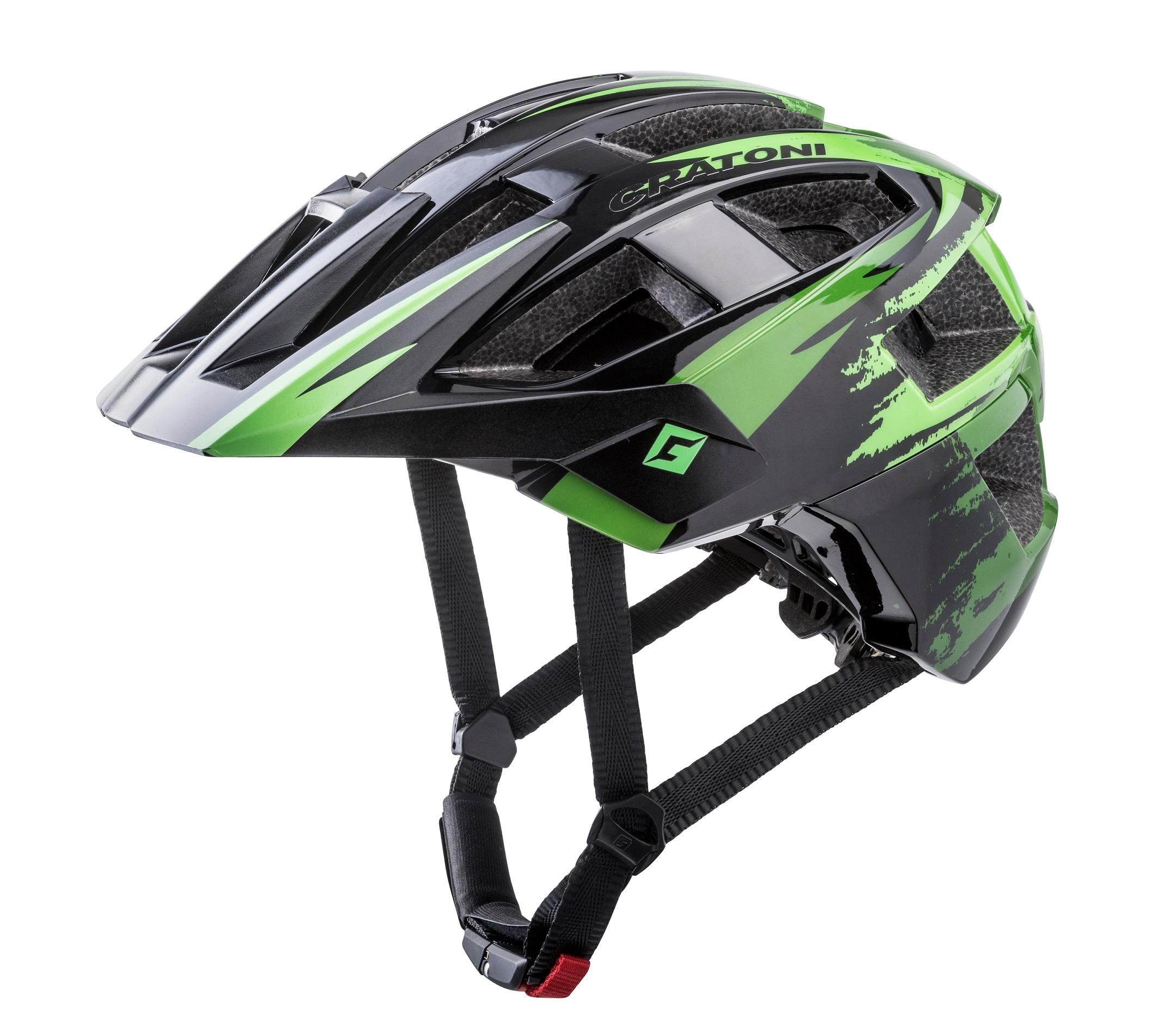 Prilba CRATONI ALLSET | black-green matt