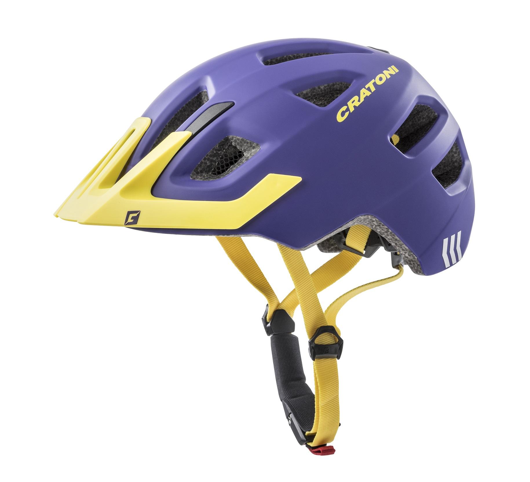 Prilba CRATONI MAXSTER PRO | purple-yellow matt