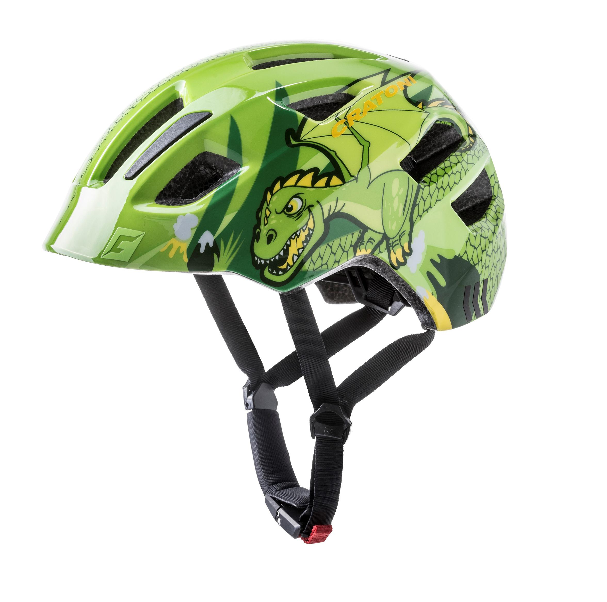 Prilba CRATONI MAXSTER | green dragon glossy