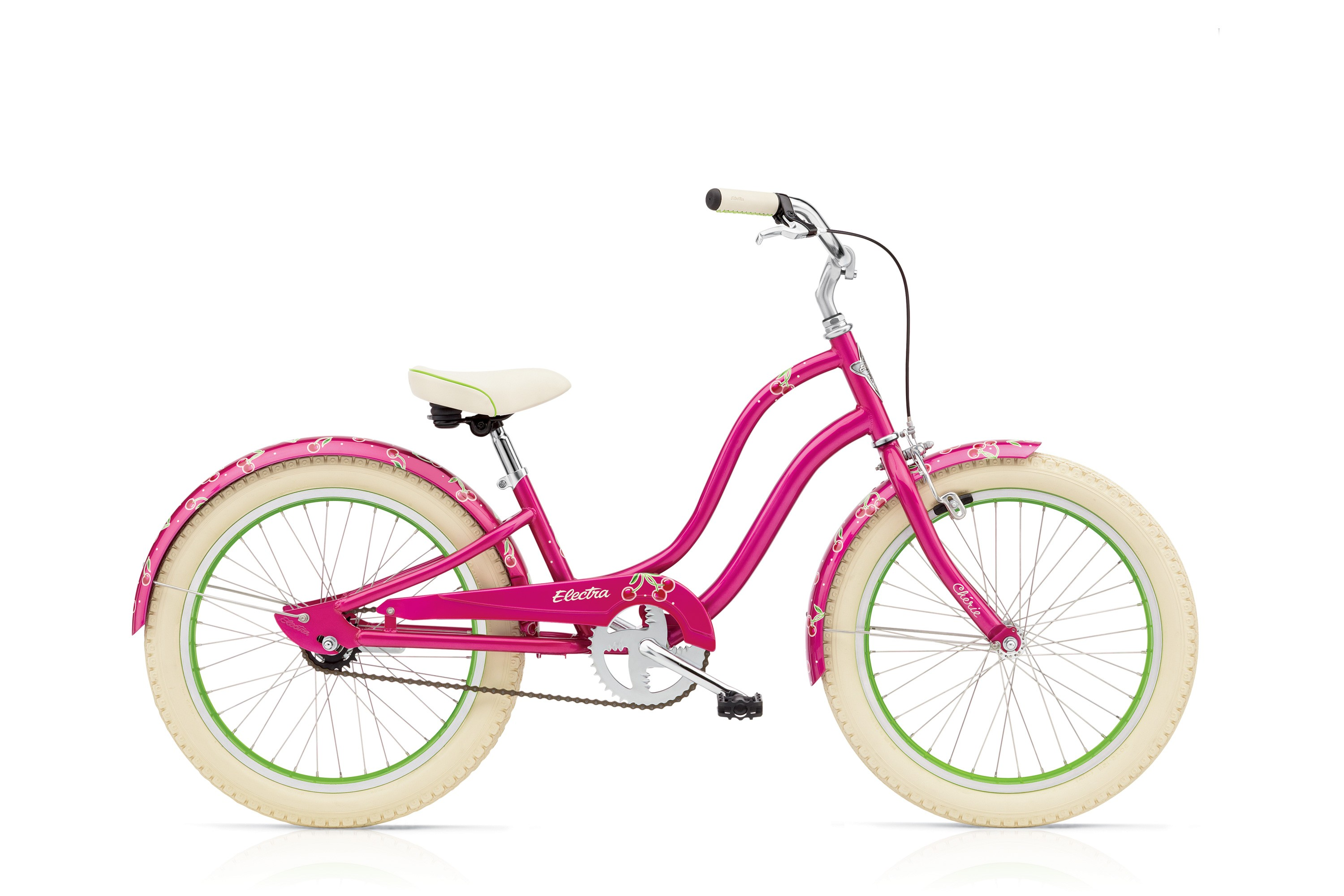Bicykel ELECTRA Cherie Kids' 3i Girls' Hot Pink 2017