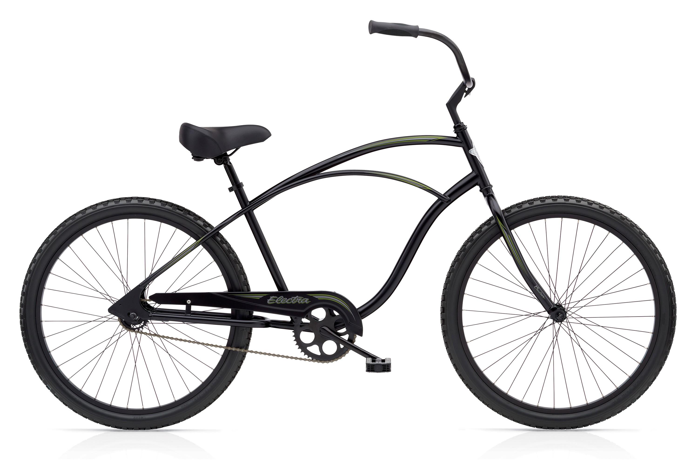 Bicykel ELECTRA Cruiser 1 Men's Black TALL (VYSOKÝ RÁM) 2018