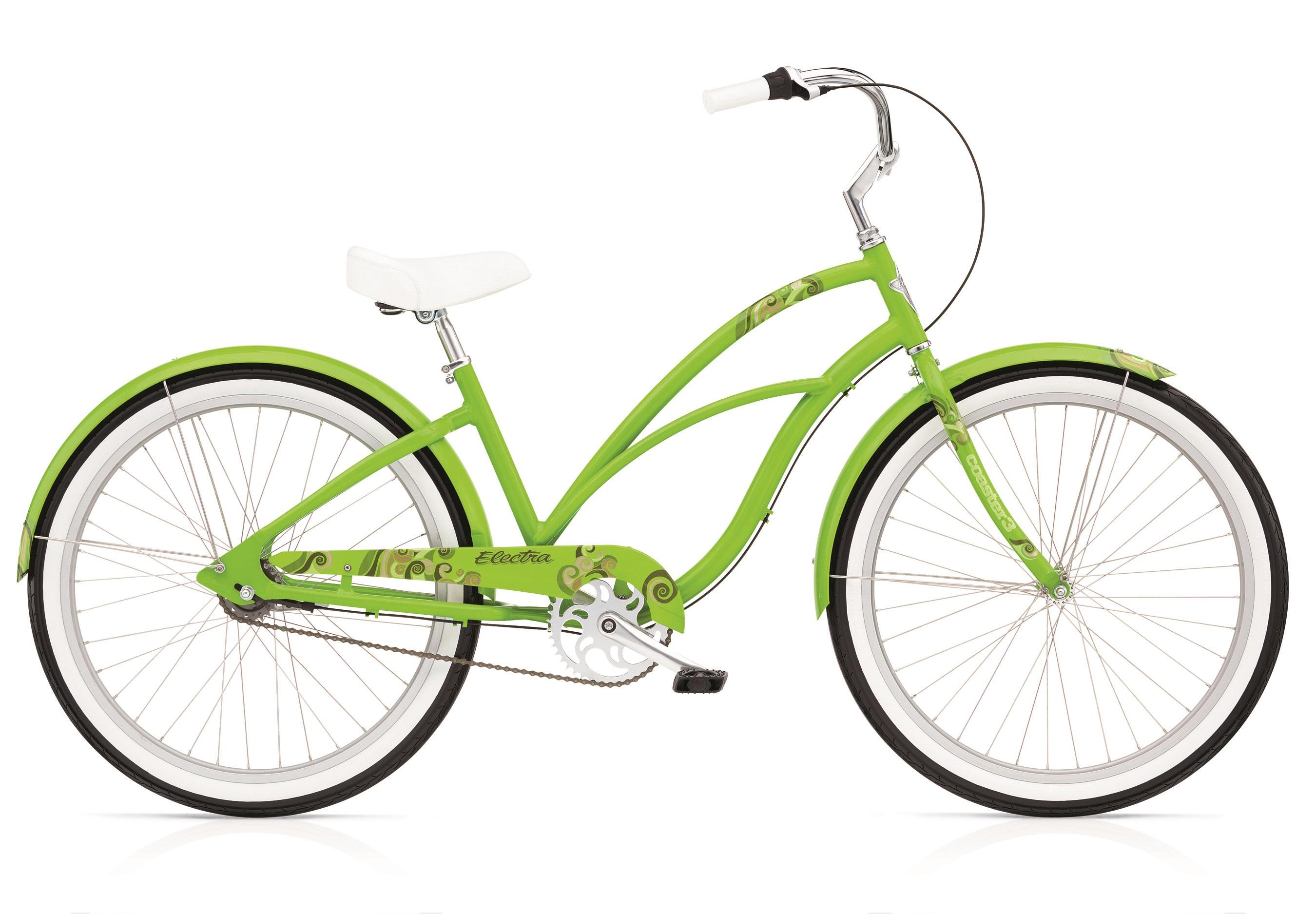 Bicykel ELECTRA Coaster 1 Ladies' Green Flash 2017
