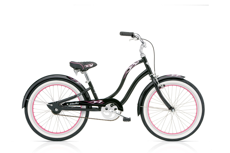 Bicykel ELECTRA Betty Kids' 3i Girls' Black 2017