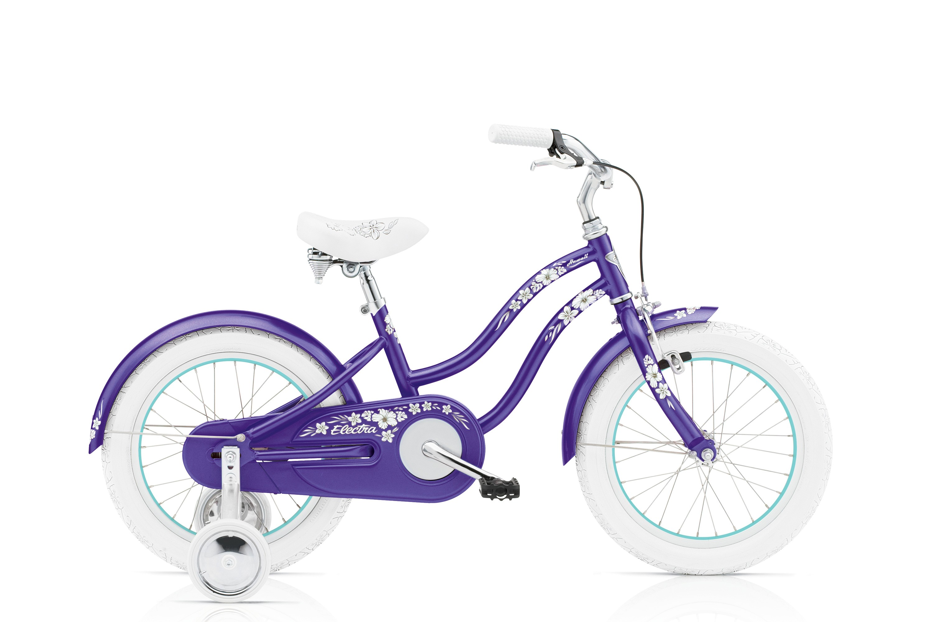 Bicykel ELECTRA Hawaii Kids' 1 Girl's Purple Metallic 2017