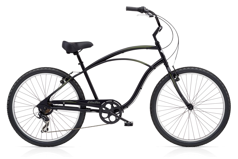 Bicykel ELECTRA Cruiser 7D Men's Black TALL (VYSOKÝ RÁM) 2018