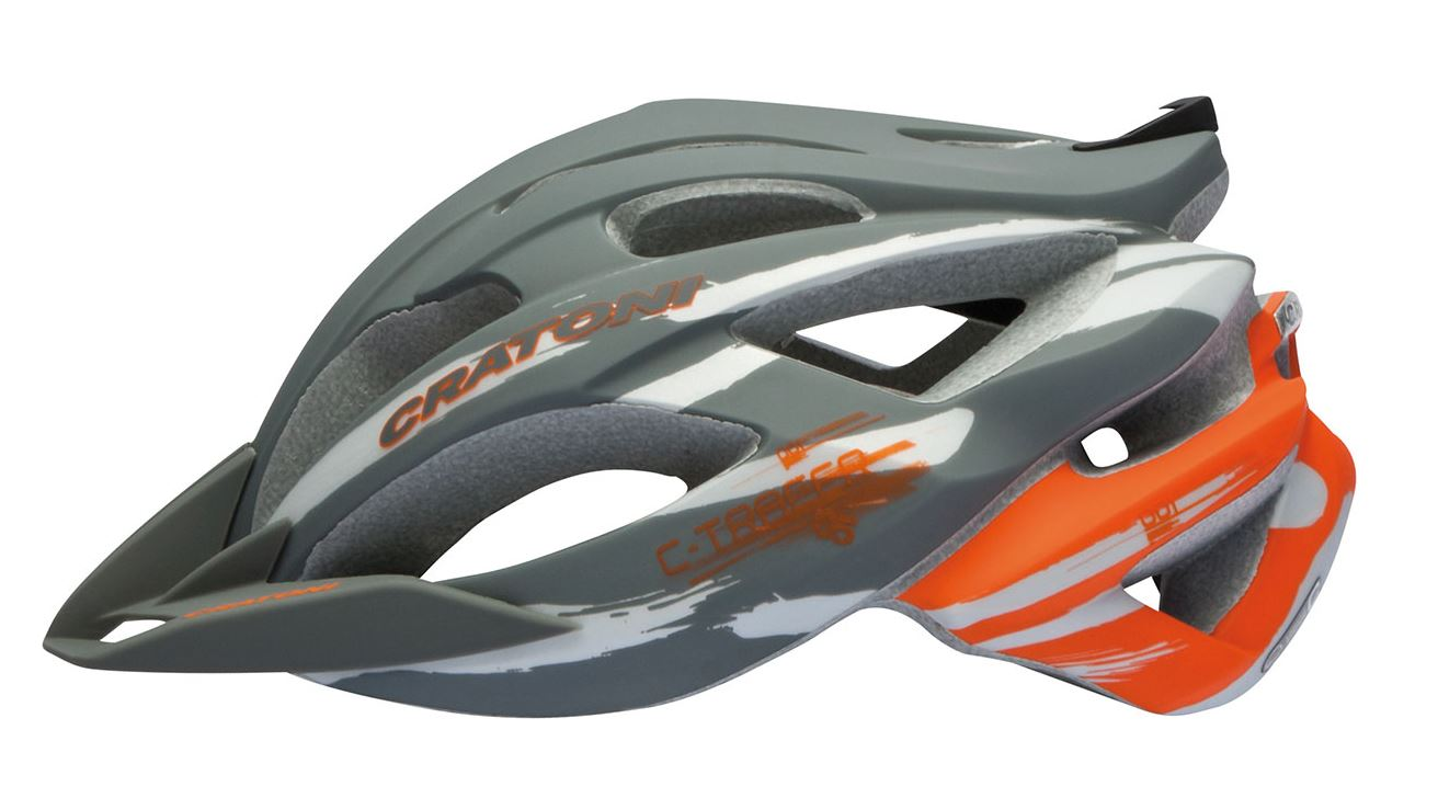 Prilba CRATONI C-Tracer anthracite-orange rubber
