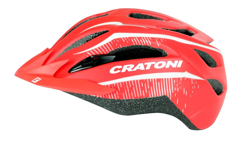 Prilba CRATONI C-Smart red matt