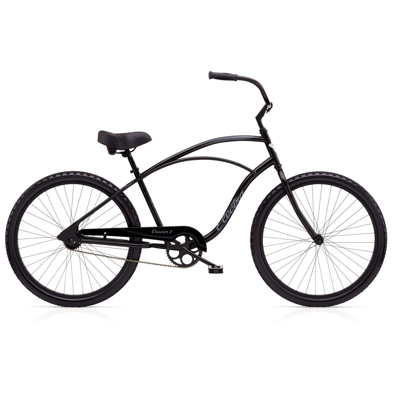 """Bicykel ELECTRA Cruiser 1 Men's Black 24"""" 2017"""
