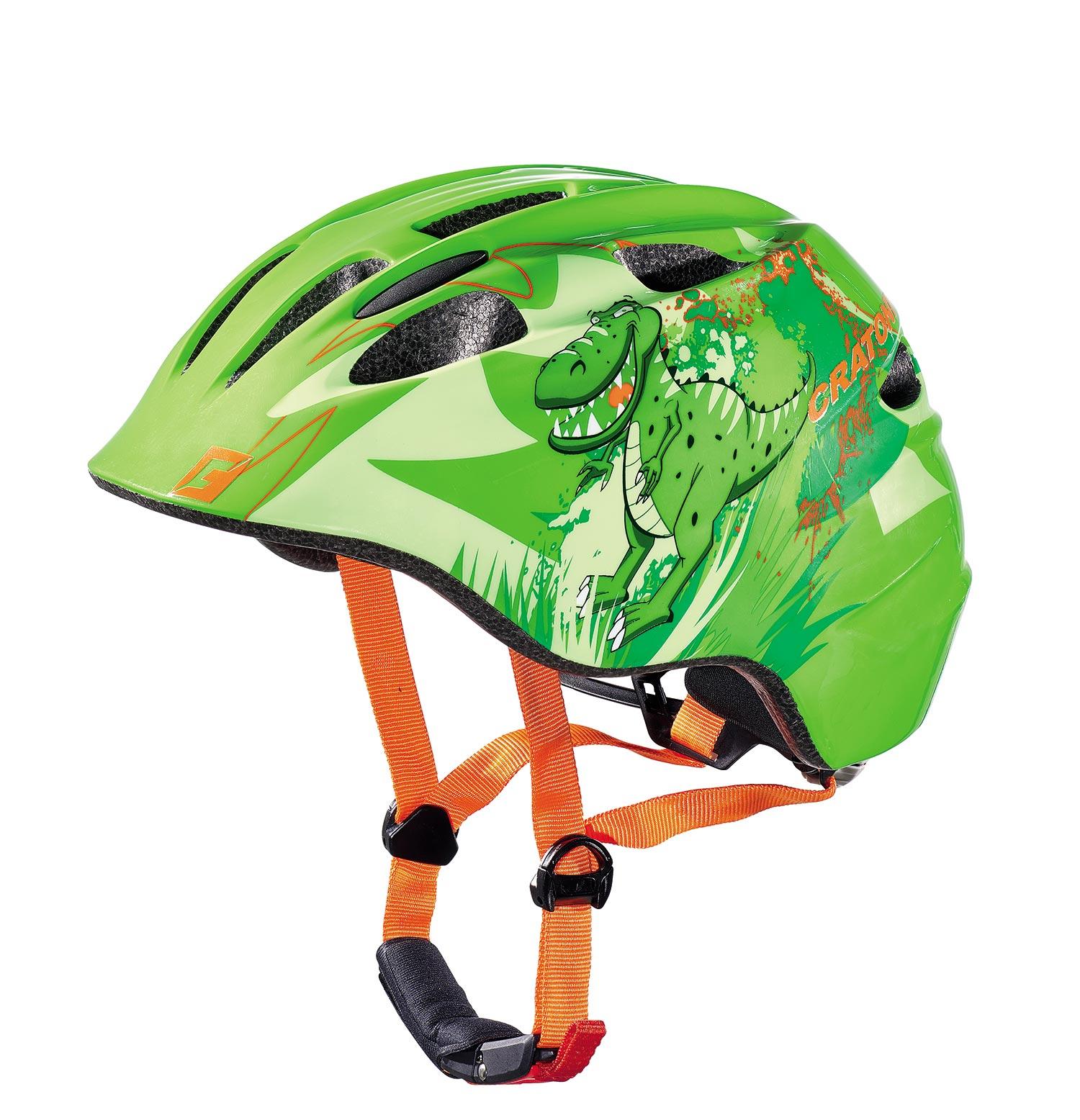 Prilba CRATONI AKINO | dino green glossy