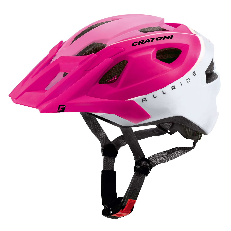 Prilba CRATONI AllRide pink-white matt