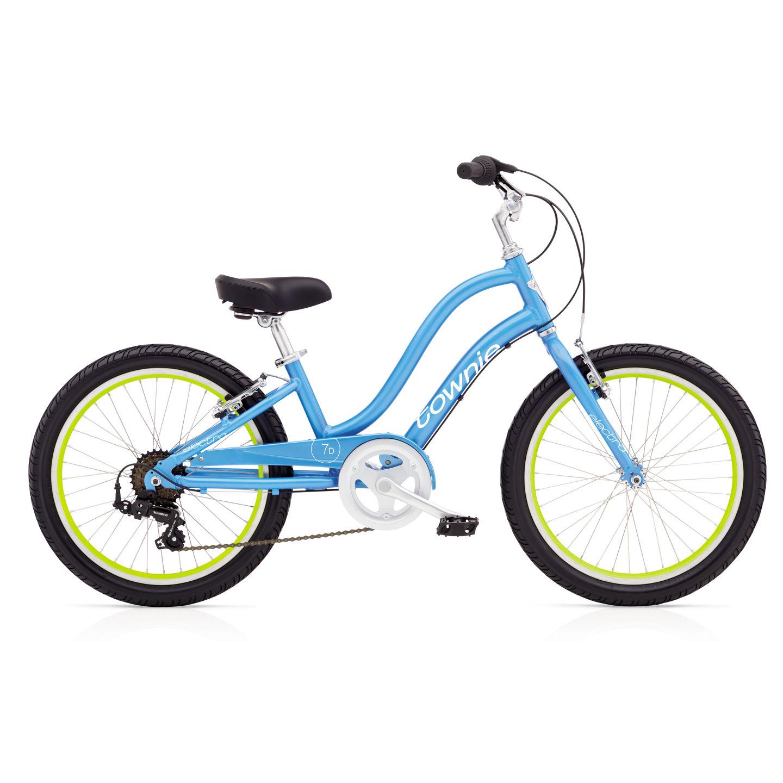 Bicykel ELECTRA Townie 7D Girls' Blue Topaz 2017