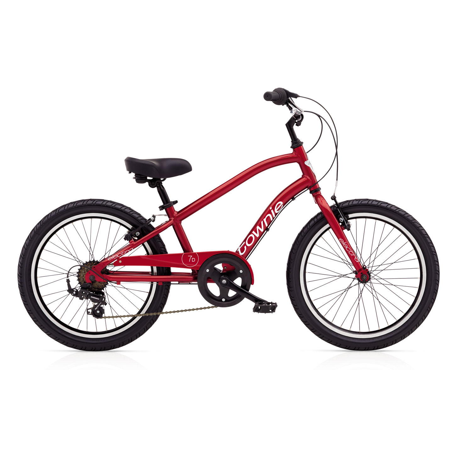 Bicykel ELECTRA Townie 7D Boys' Electric Red 2017