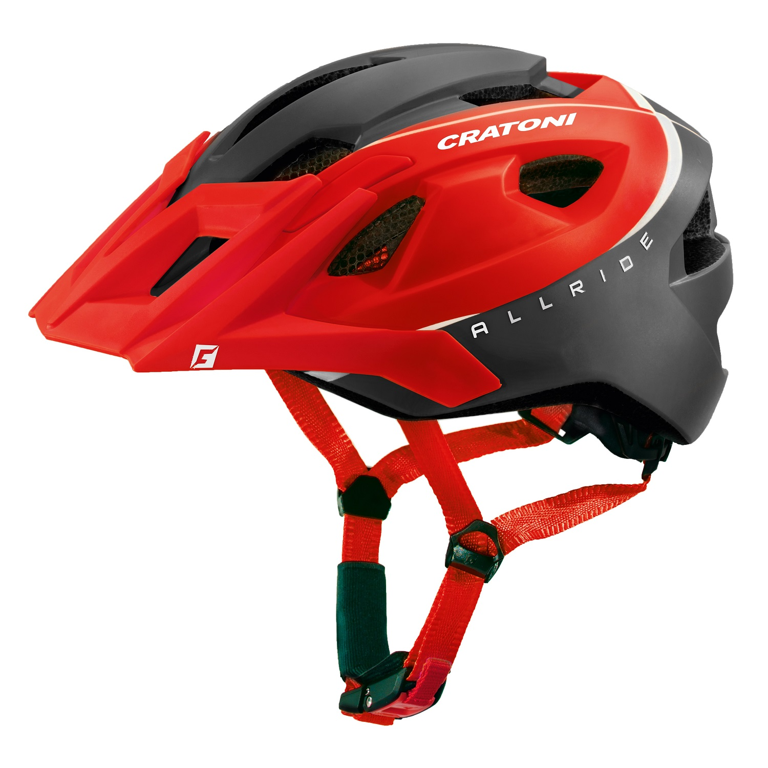 Prilba CRATONI AllRide red-black matt