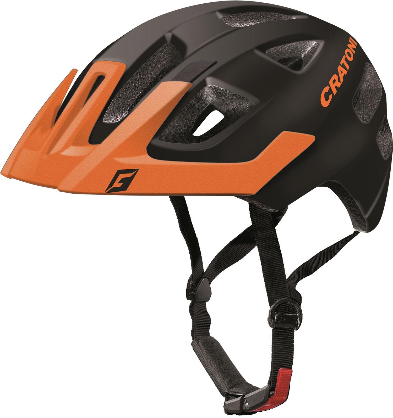 Prilba CRATONI MAXSTER PRO | black-orange matt