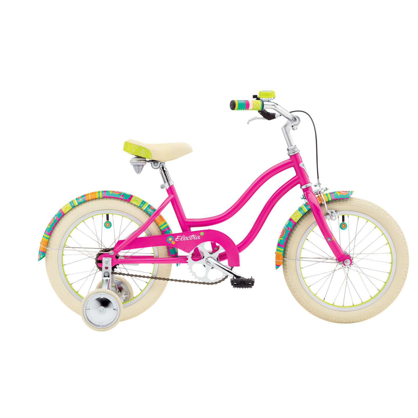 Bicykel ELECTRA Water Lily Kids' 1 Girls' Bright Pink 2018