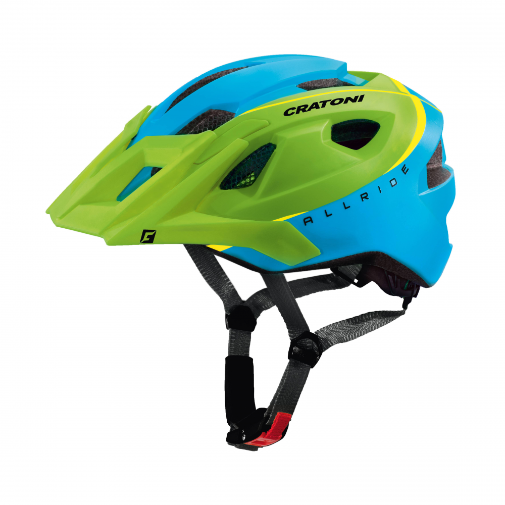 Prilba CRATONI AllRide green-blue matt