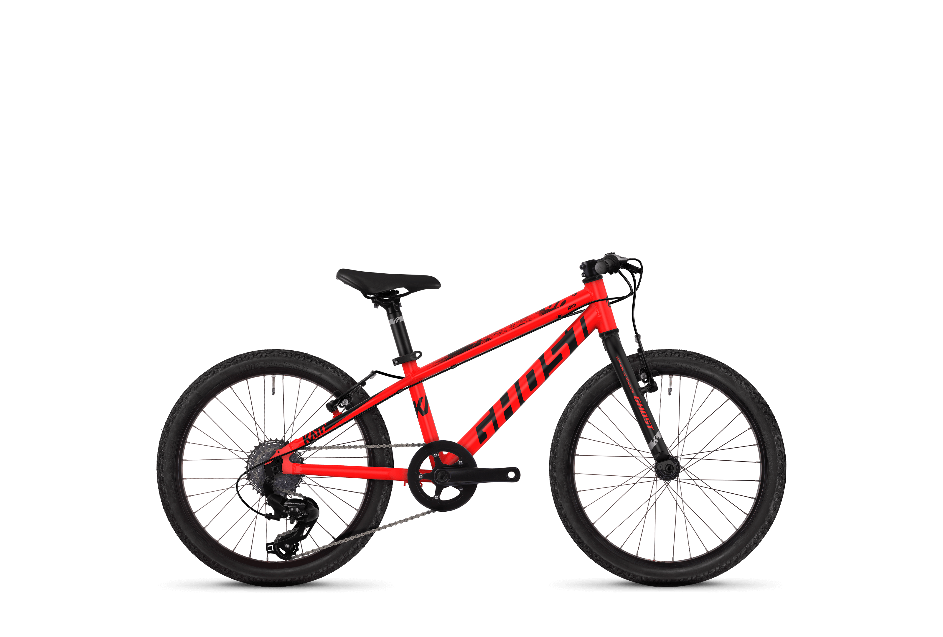 Bicykel Ghost Kato Kid R1.0 red / black