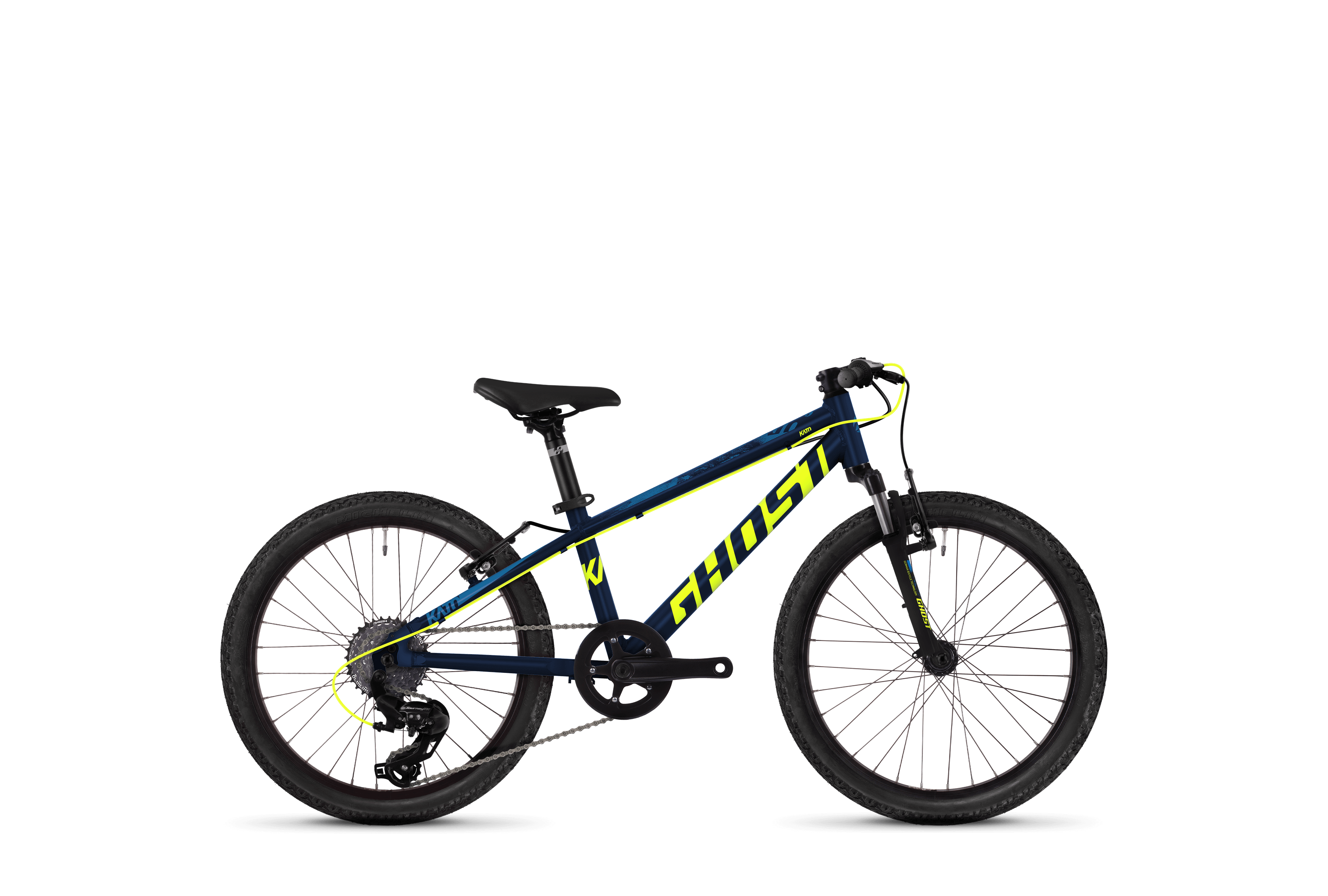 Bicykel Ghost Kato KID 2.0 blue / yellow