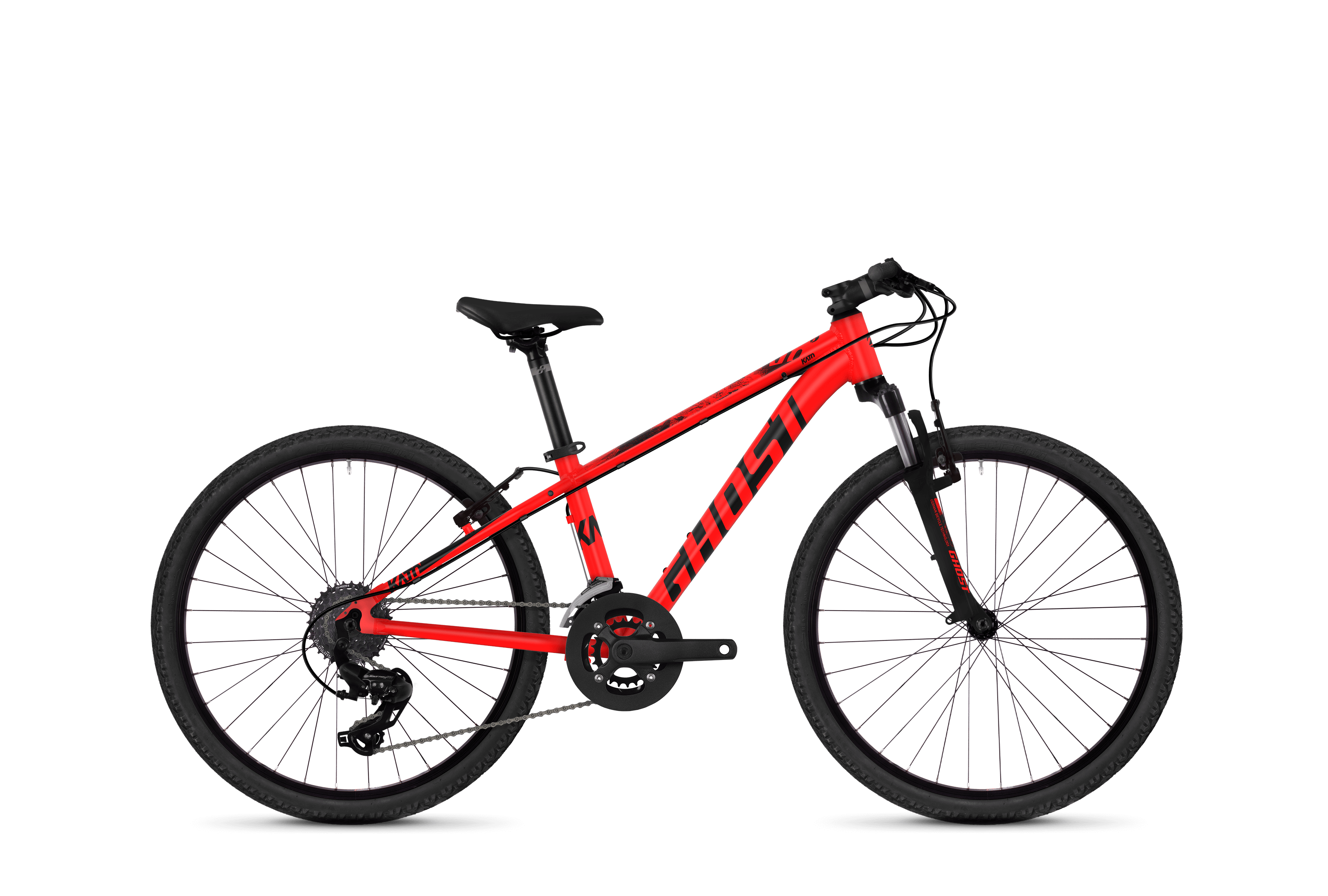 Bicykel Ghost Kato Kid 2.4 red / black