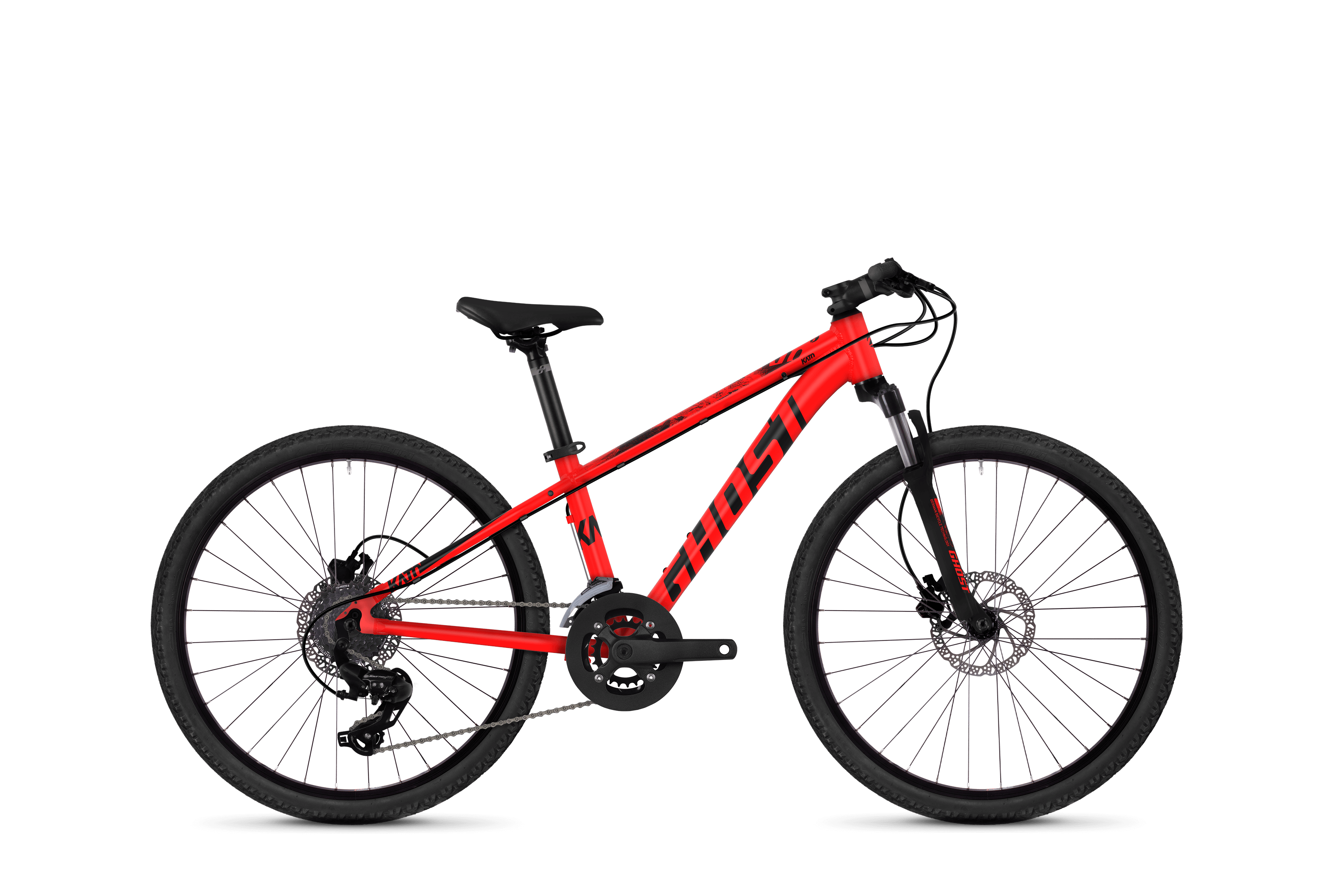 Bicykel Ghost Kato KID D4.4 red / black