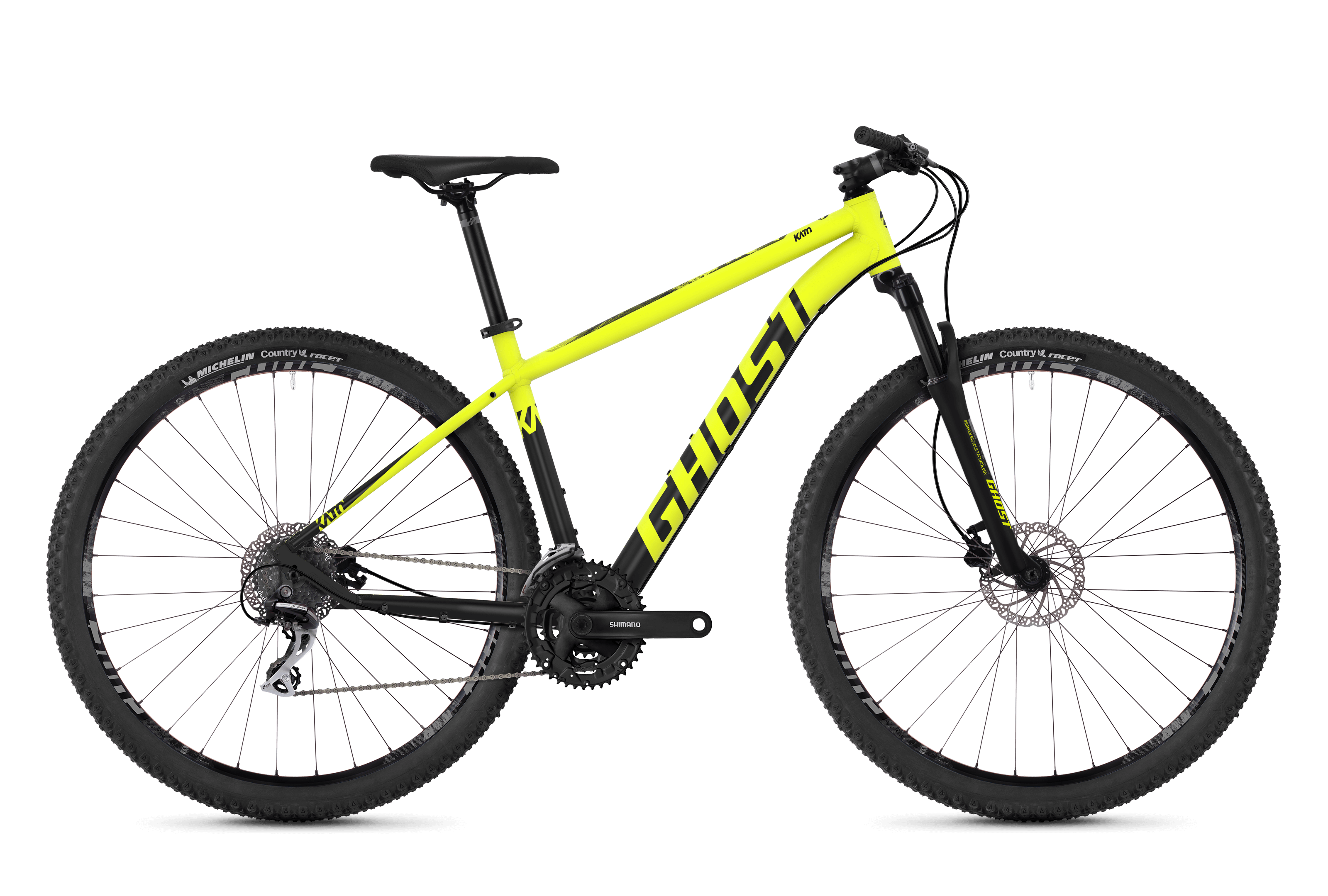 Bicykel Ghost Kato 2.9 yellow / black