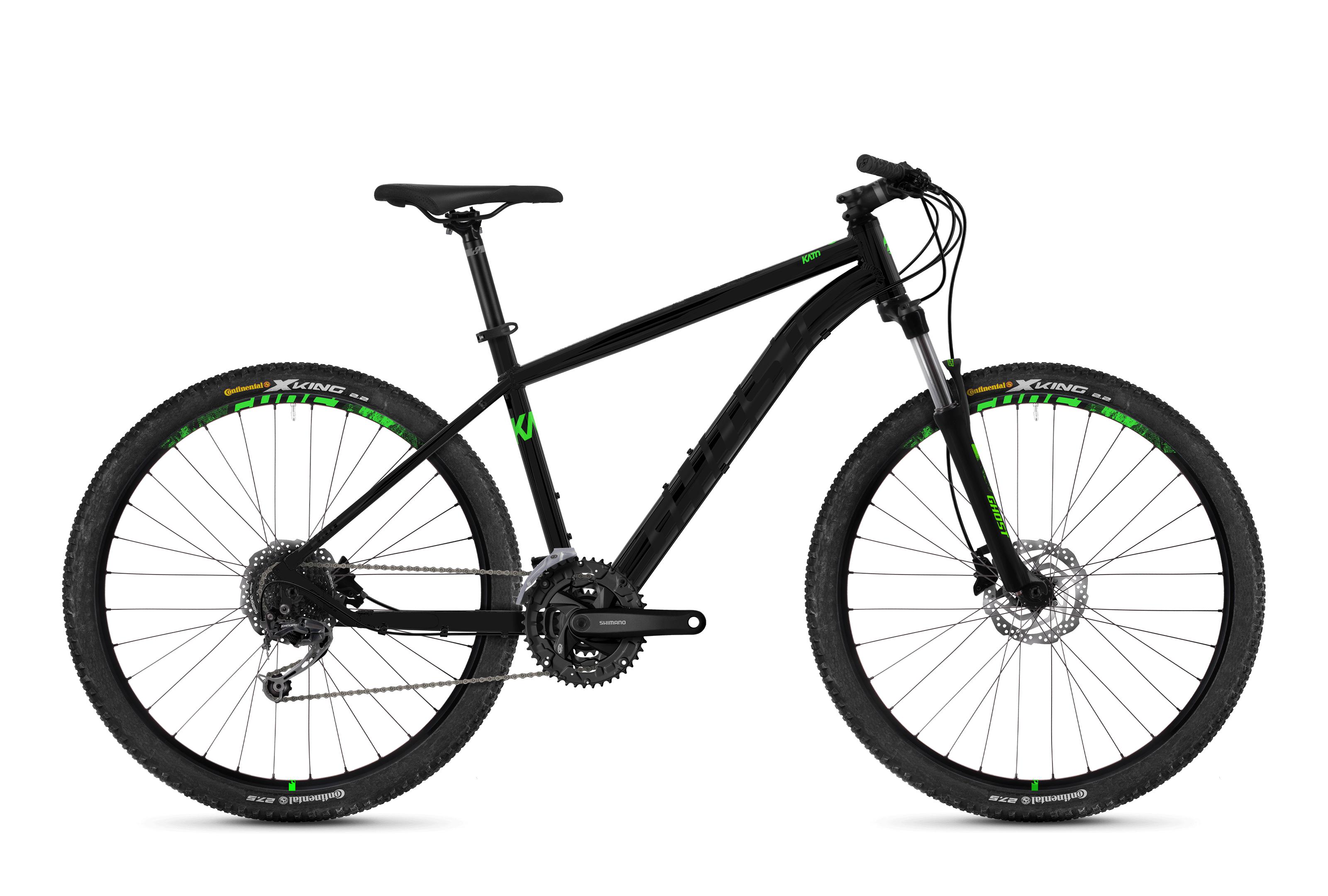 Bicykel Ghost Kato 4.7 black / green