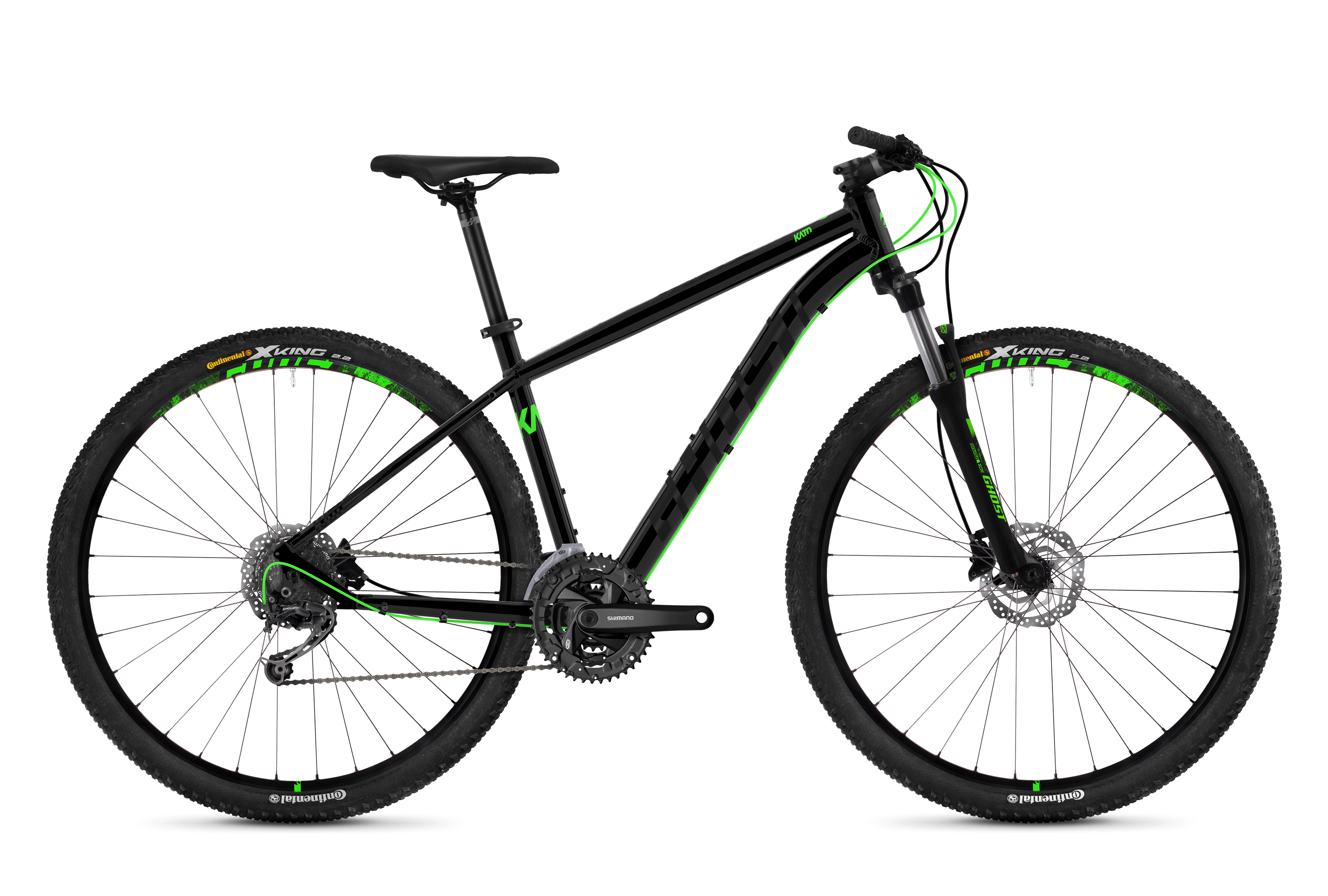 Bicykel Ghost Kato 4.9 black / green
