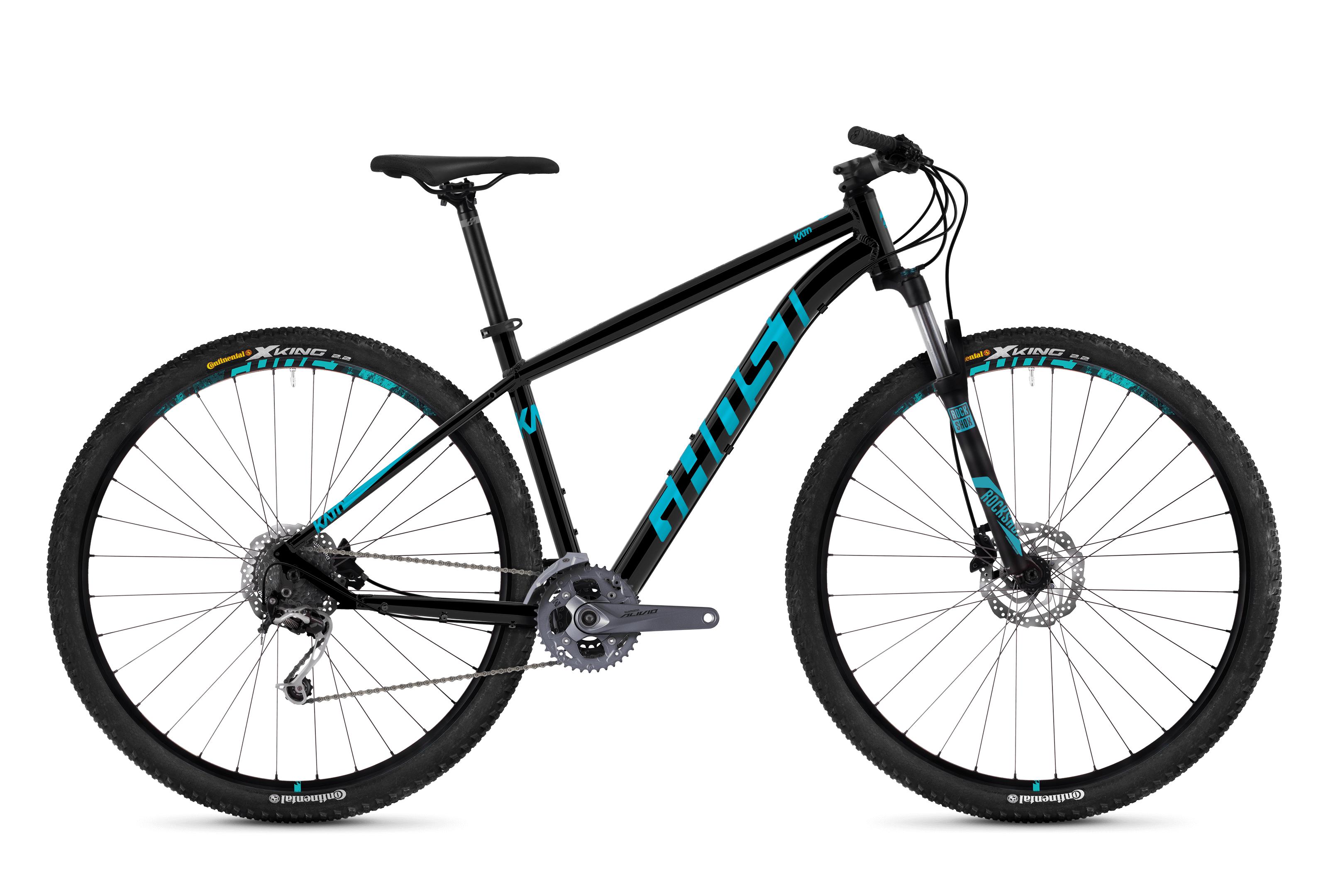 Bicykel Ghost Kato 5.9 black / blue