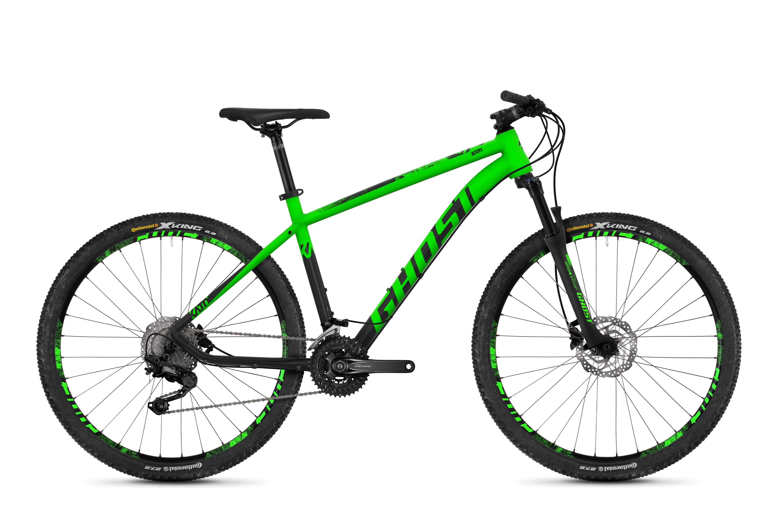 Bicykel Ghost Kato 6.7 green / black