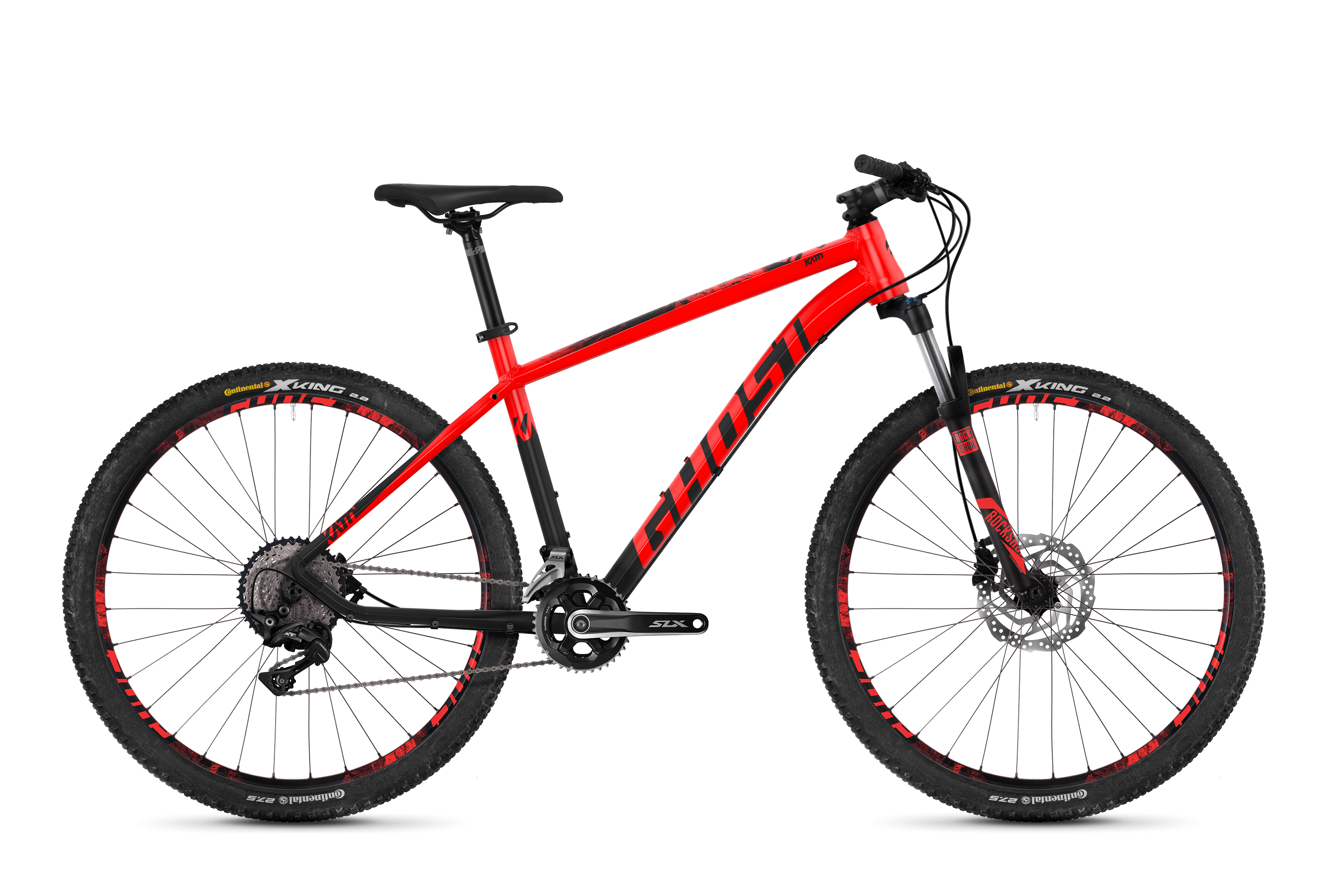 Bicykel Ghost Kato 7.7 red / black