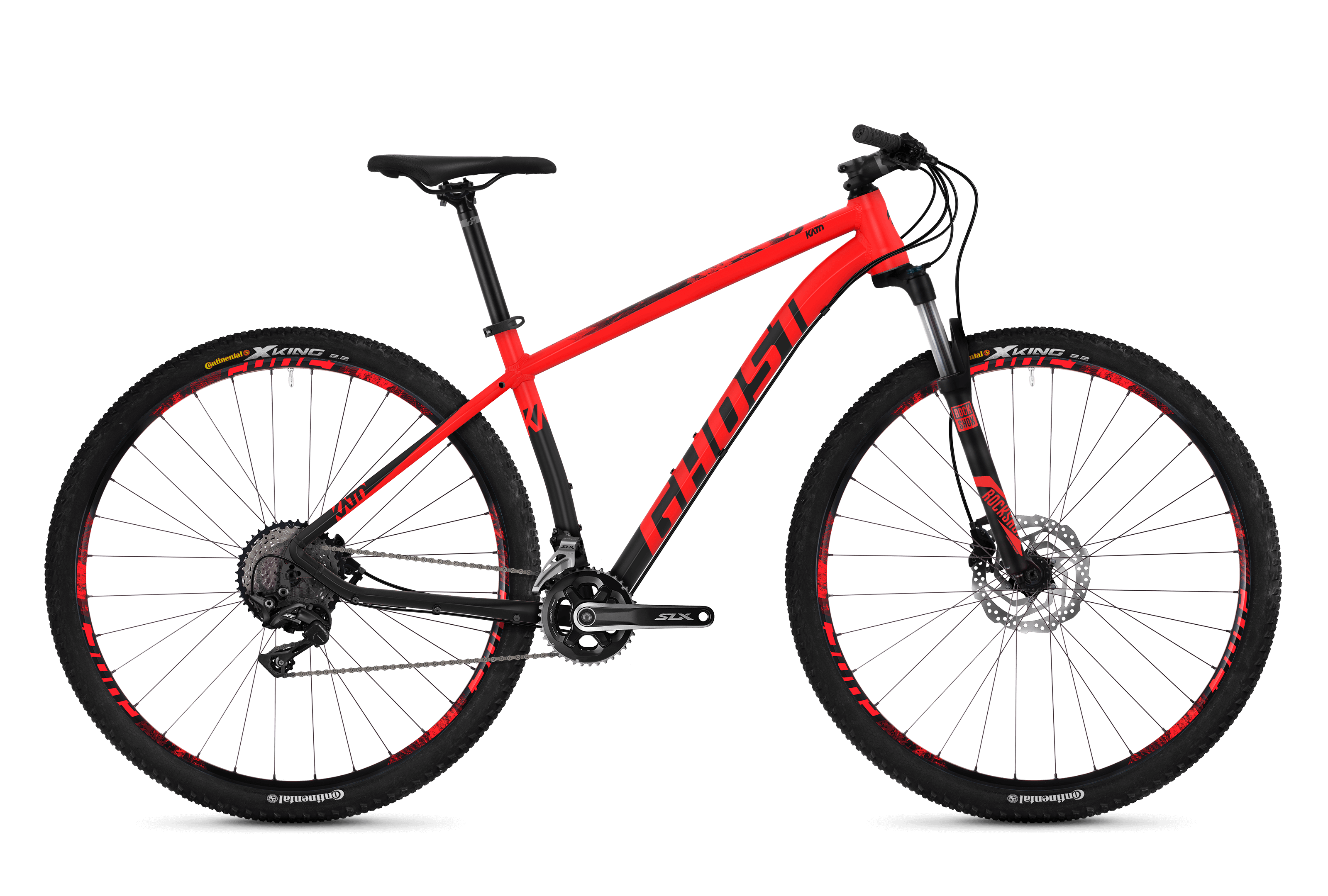 Bicykel Ghost Kato 7.9 red / black