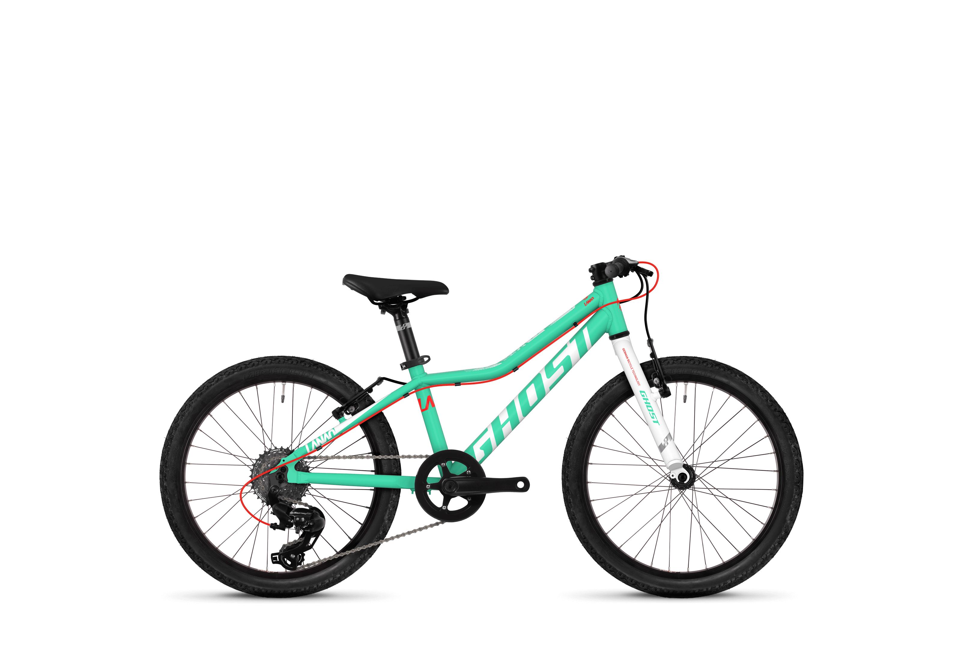 Bicykel Ghost Lanao KID R1.0 jadeblue / white