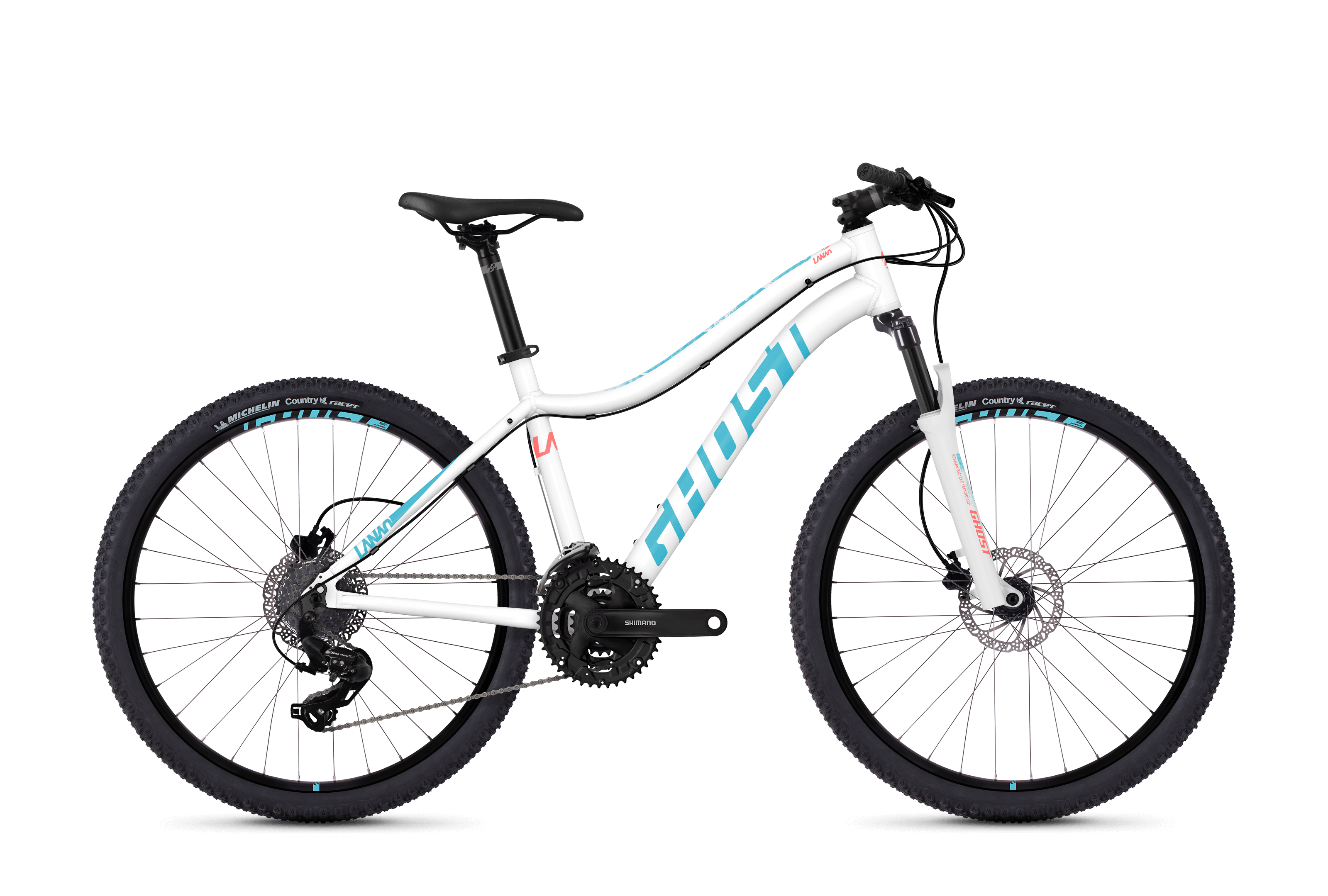Bicykel Ghost Lanao 1.6 white / blue