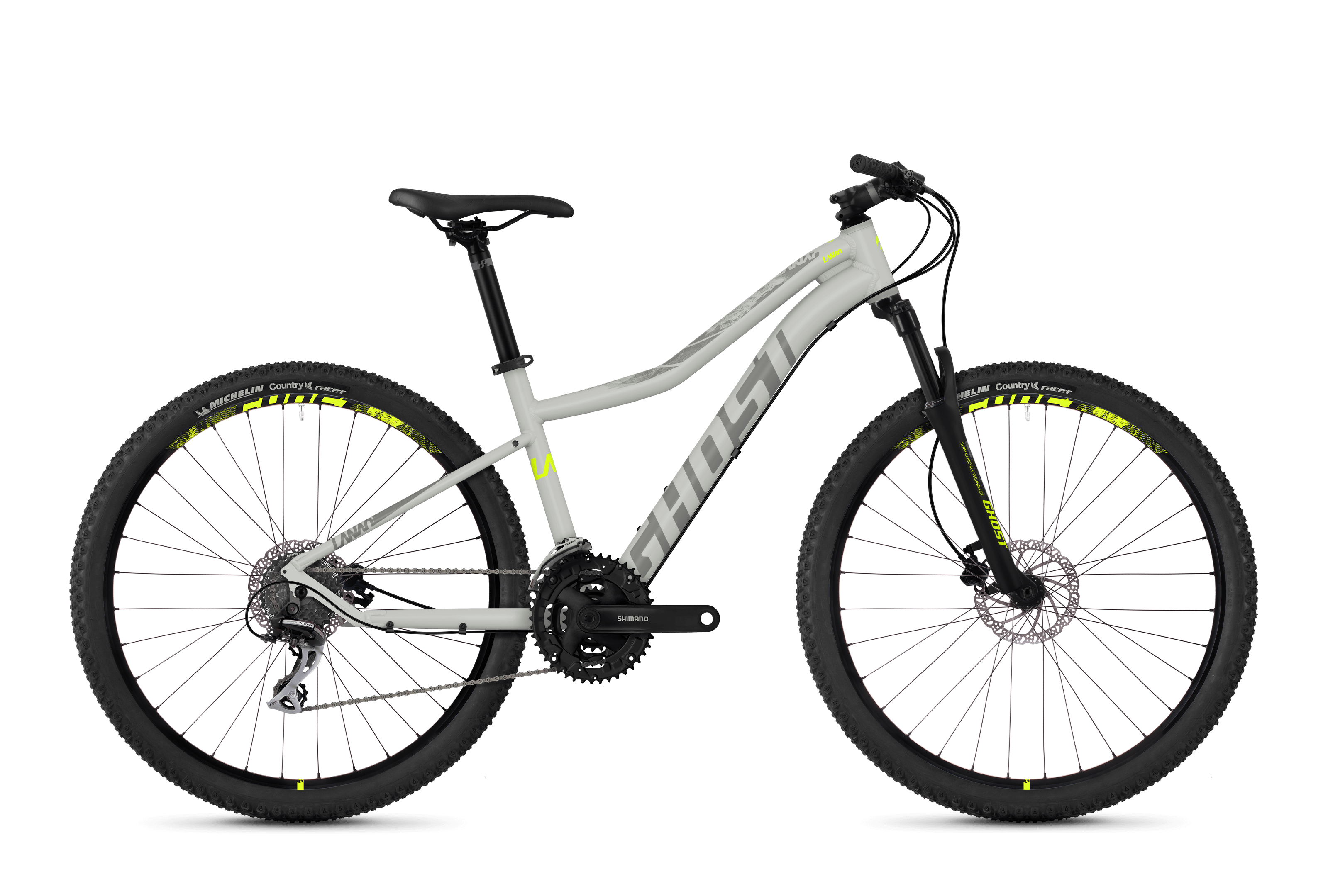 Bicykel Ghost Lanao 2.7 grey / grey