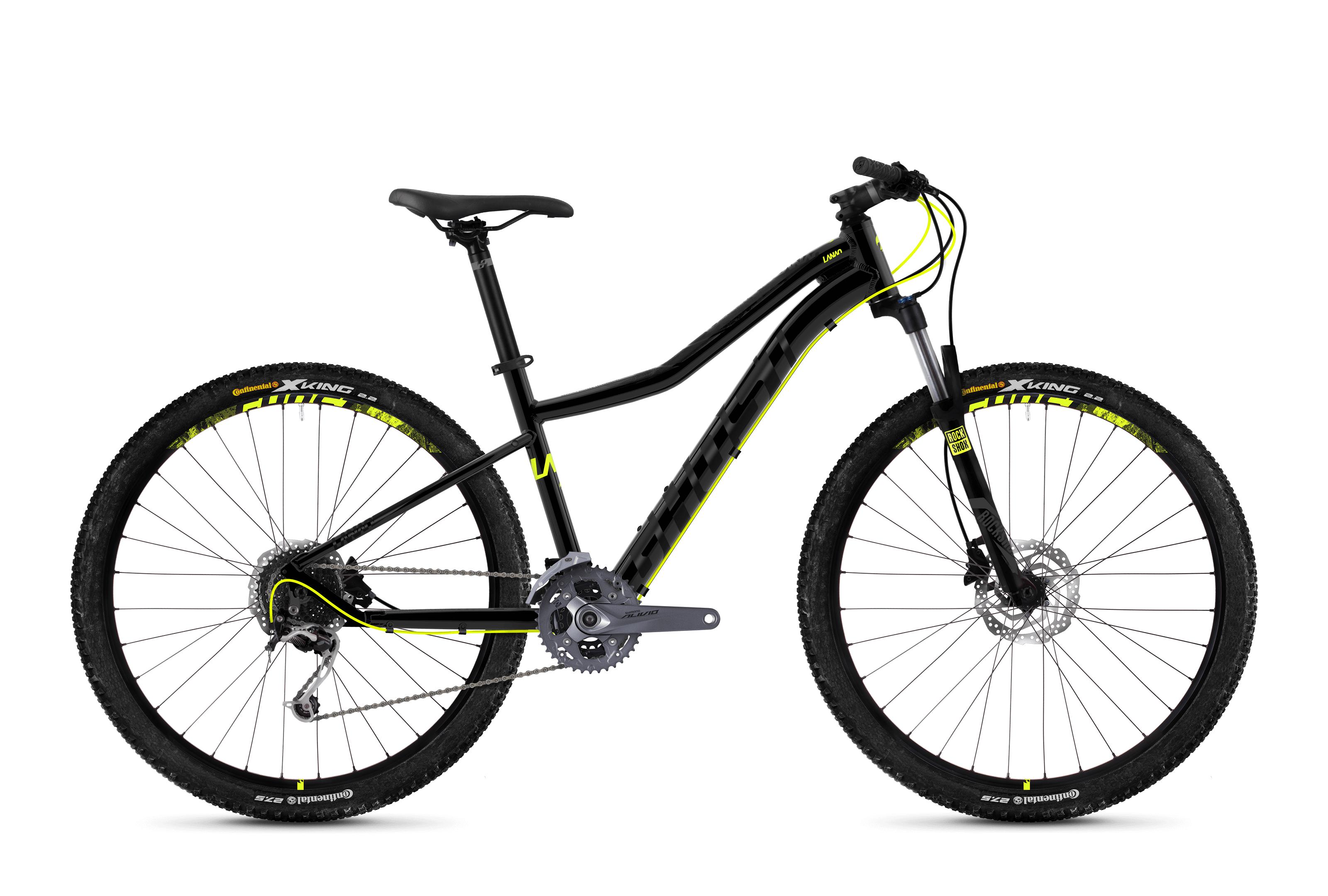 Bicykel Ghost Lanao 5.7 black / yellow
