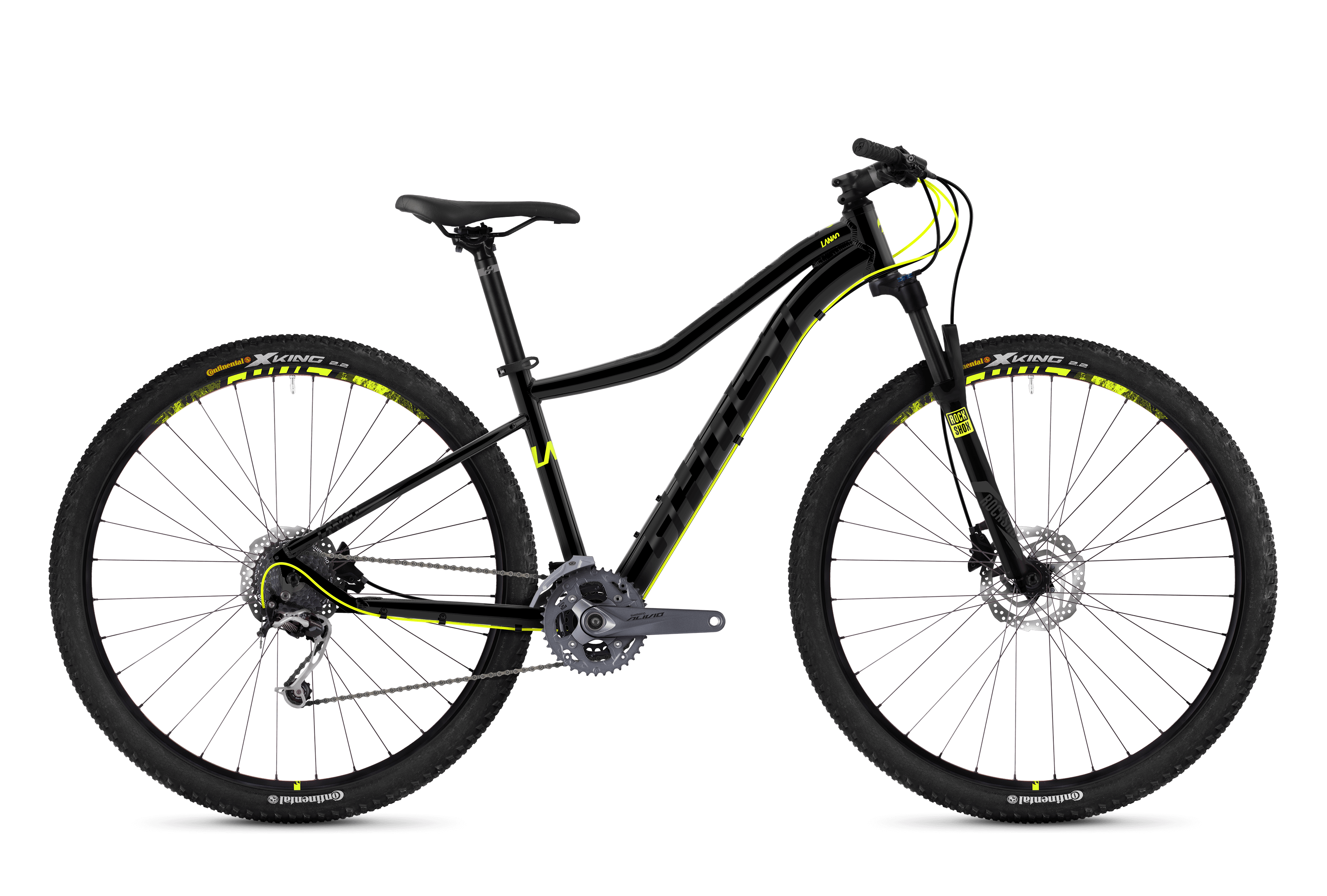 Bicykel Ghost Lanao 5.9 black / yellow
