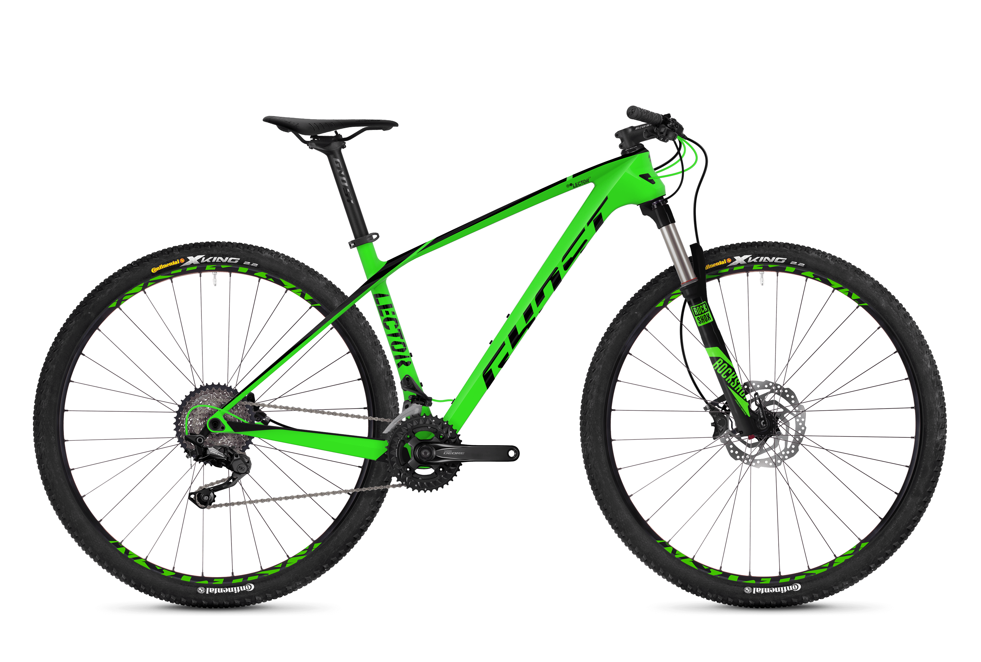 Bicykel Ghost Lector 2.9 LC green / black