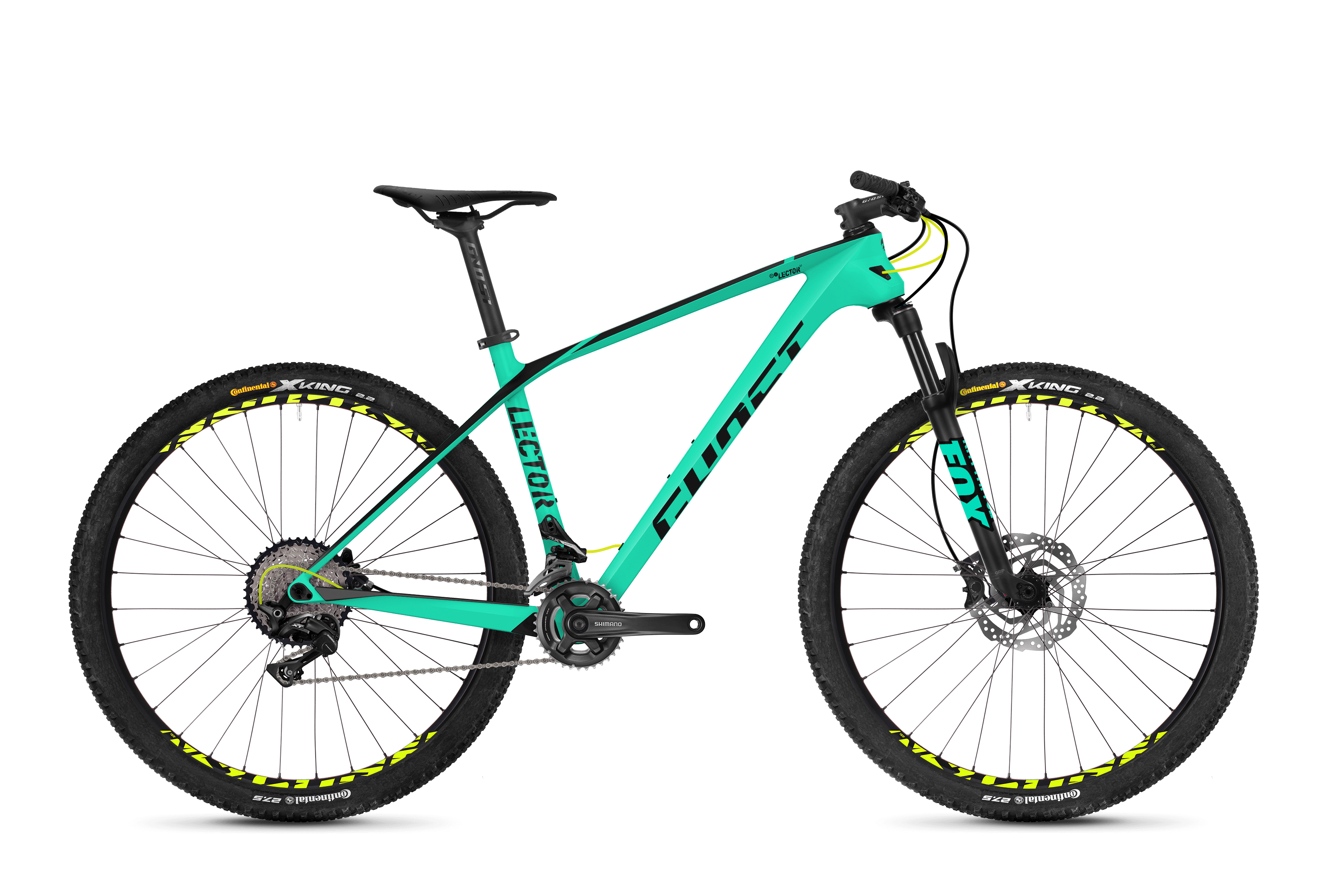 Bicykel Ghost Lector 3.7 LC jadeblue / black