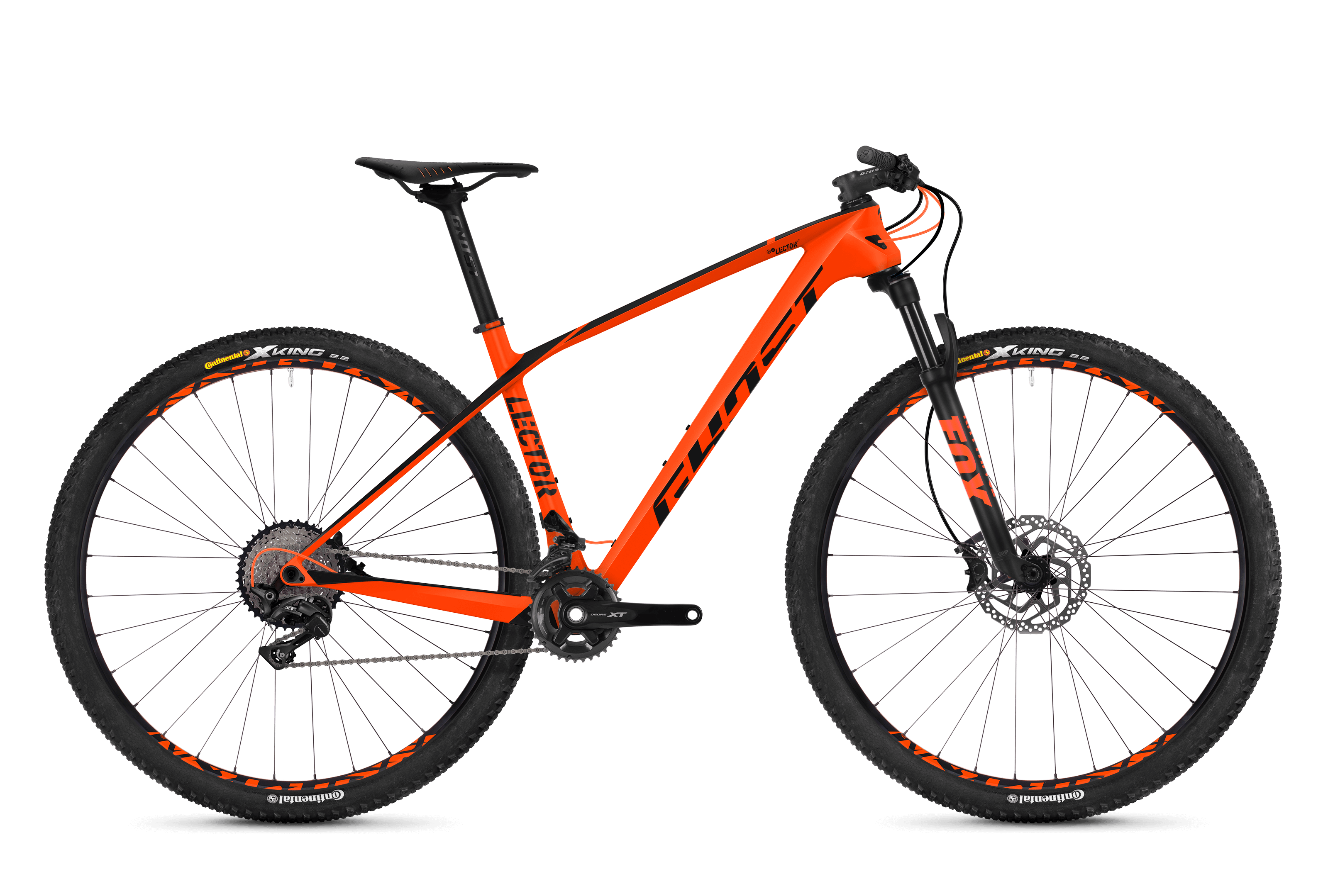 Bicykel Ghost Lector 4.9 LC orange / black