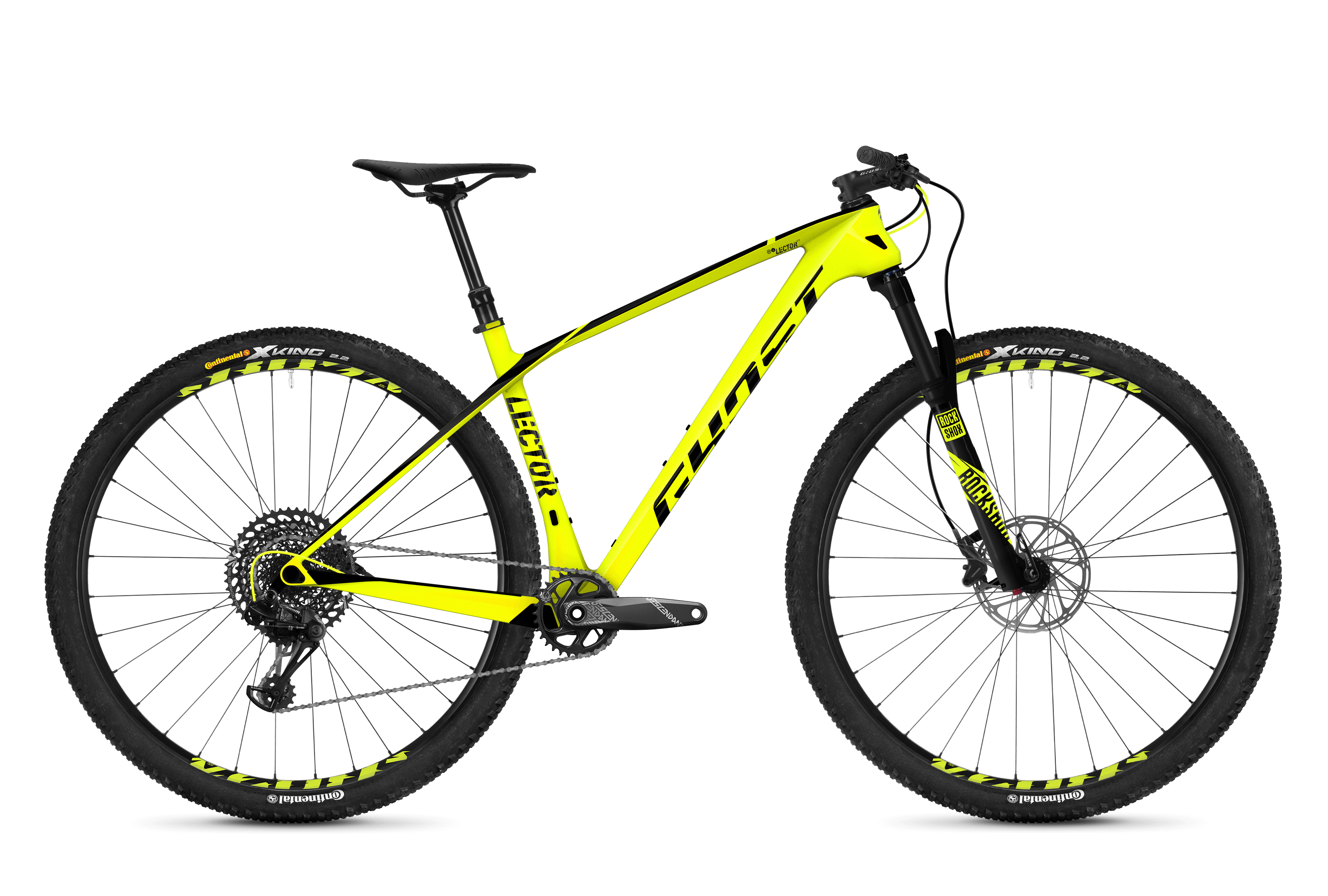 Bicykel Ghost Lector 5.9 LC yellow / black
