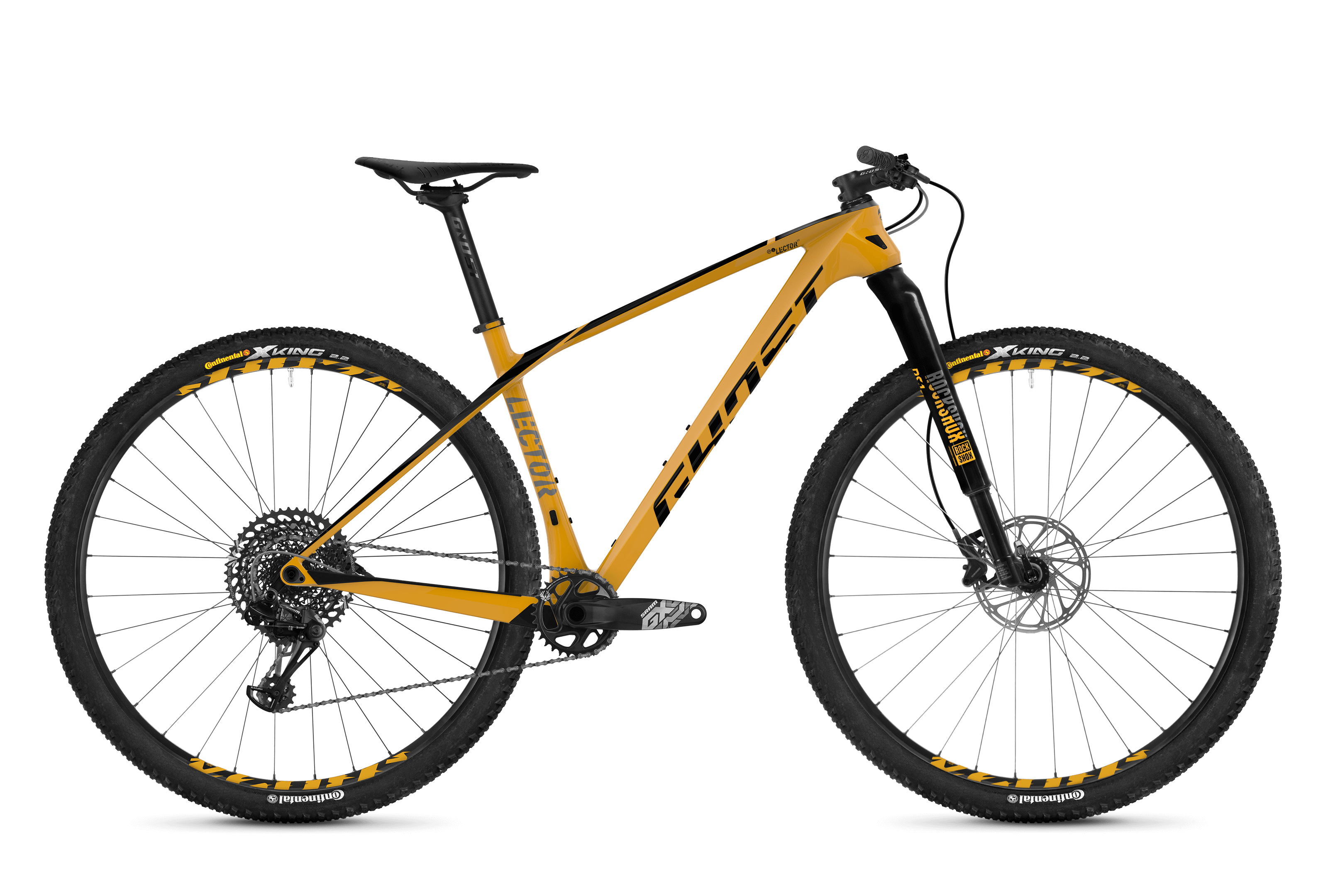 Bicykel Ghost Lector 7.9 LC yellow / black