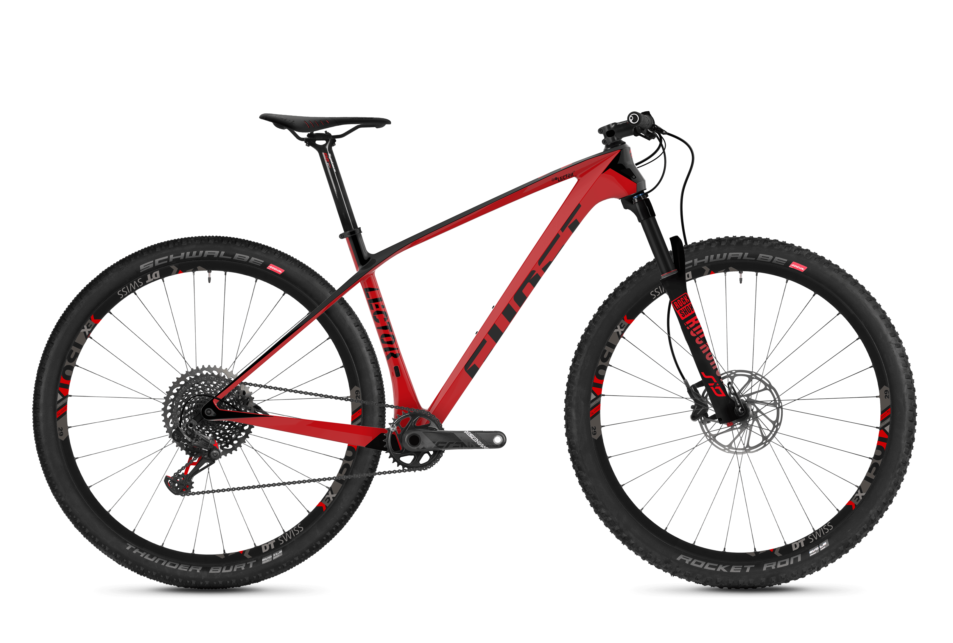Bicykel Ghost Lector 9.9 UC red / black