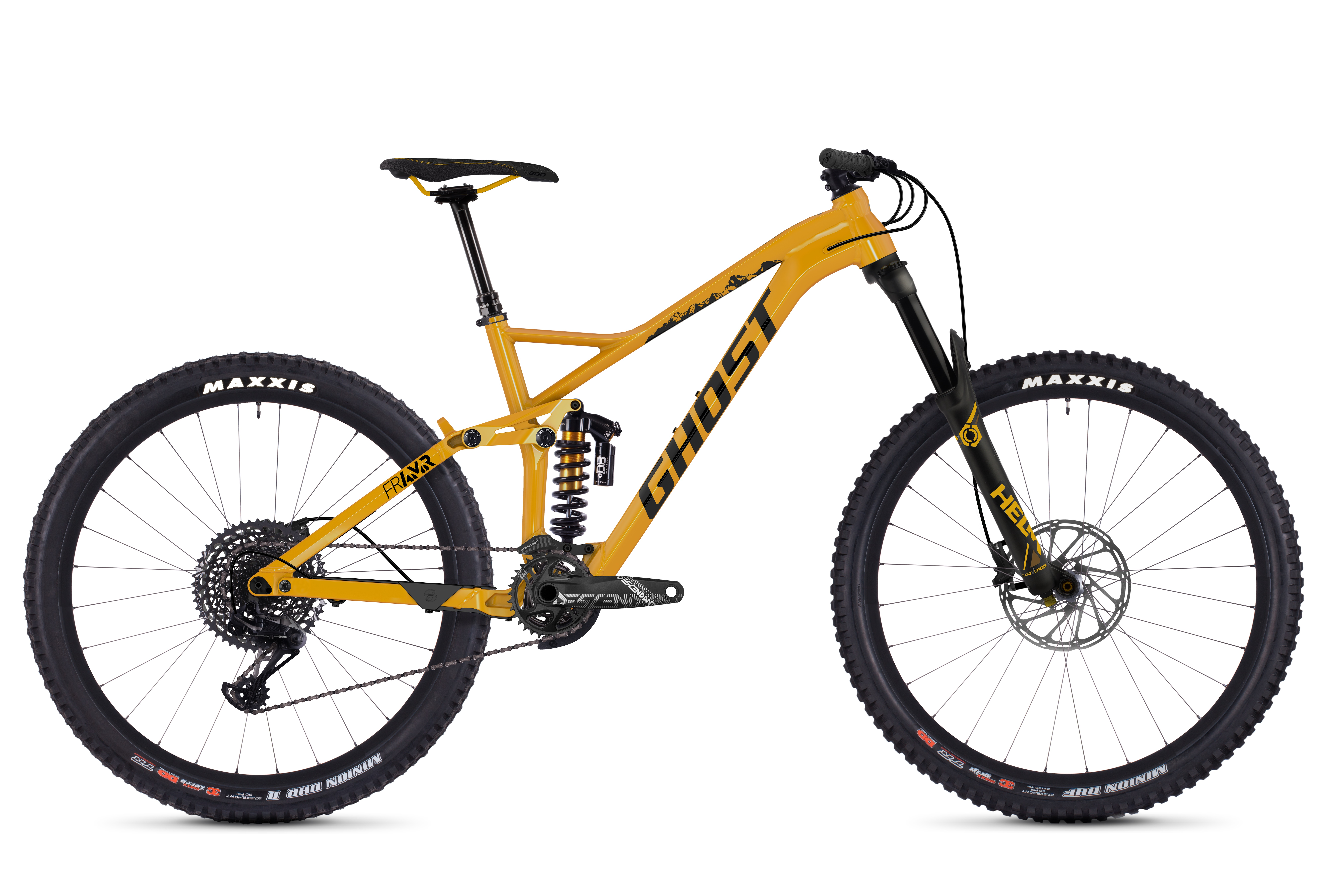 Bicykel Ghost Framr 8.7