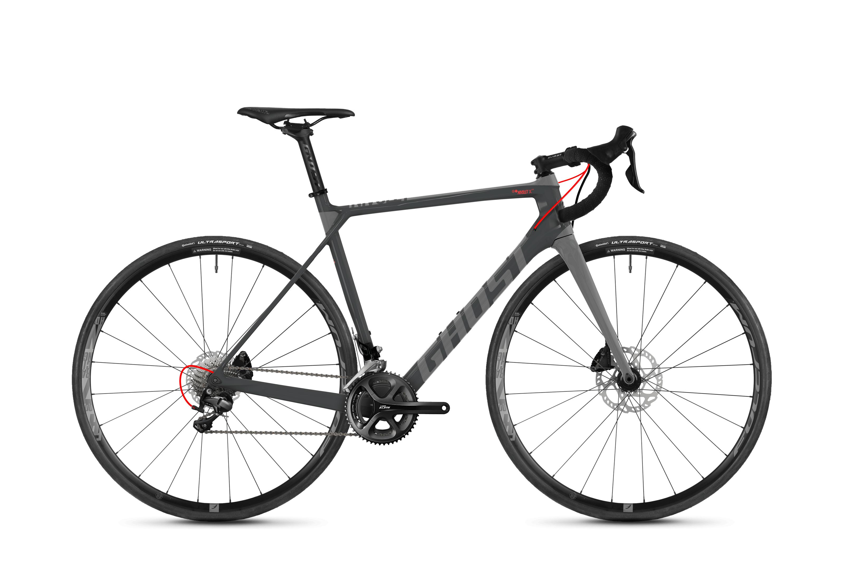 Bicykel Ghost Nivolet X 5.8 LC