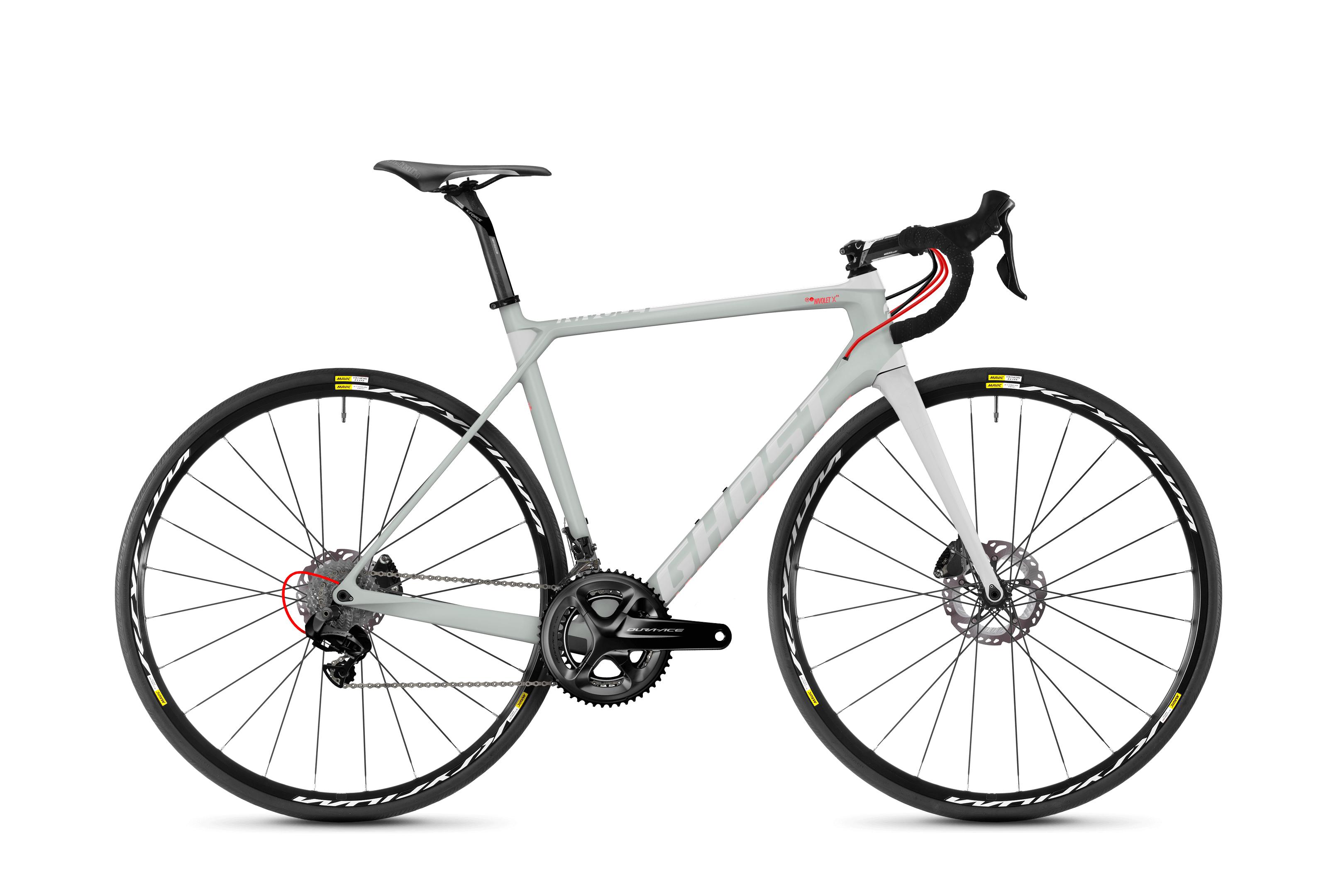 Bicykel Ghost Nivolet X 9.8 LC